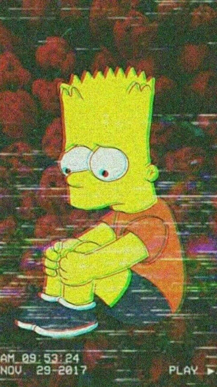 Depressed Bart Simpson Wallpapers Wallpaper Cave