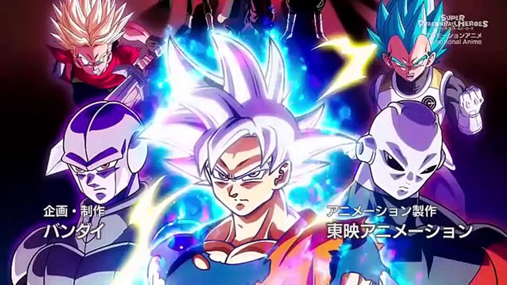 Super Dragon Ball Heroes Wallpapers Wallpaper Cave