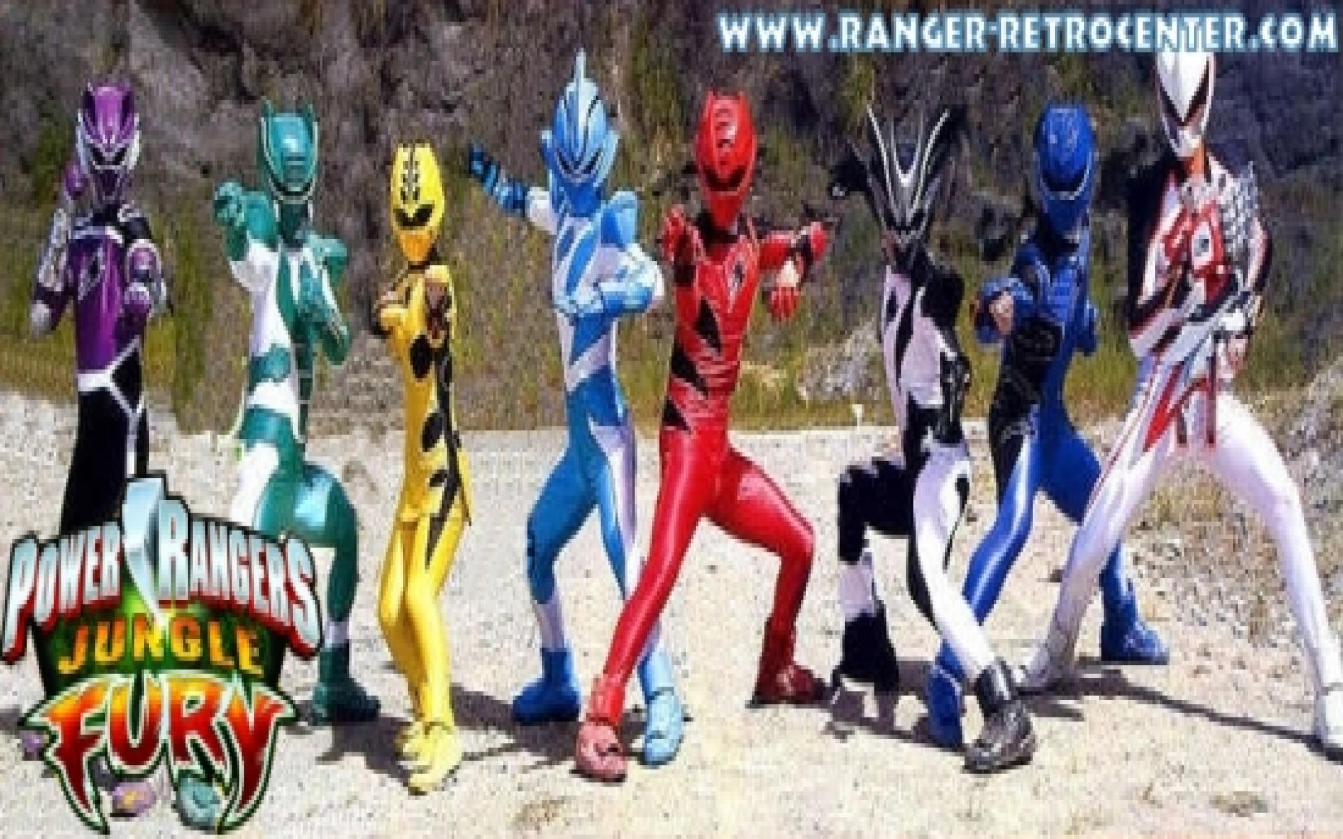 Power Rangers Jungle Fury Wallpapers Wallpaper Cave