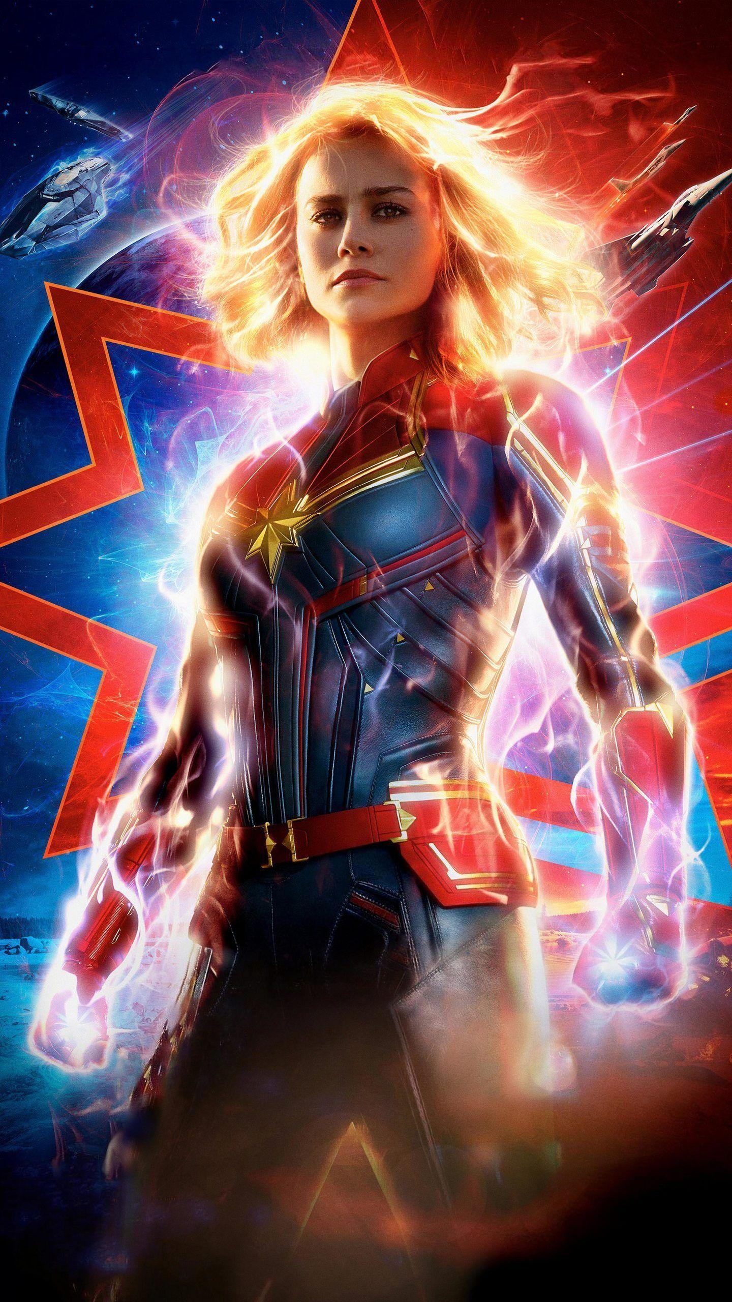 Captain Marvel Endgame Wallpapers Wallpaper Cave
