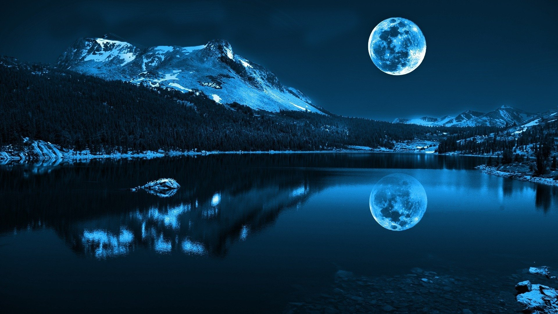 Full Hd Moon Wallpaper