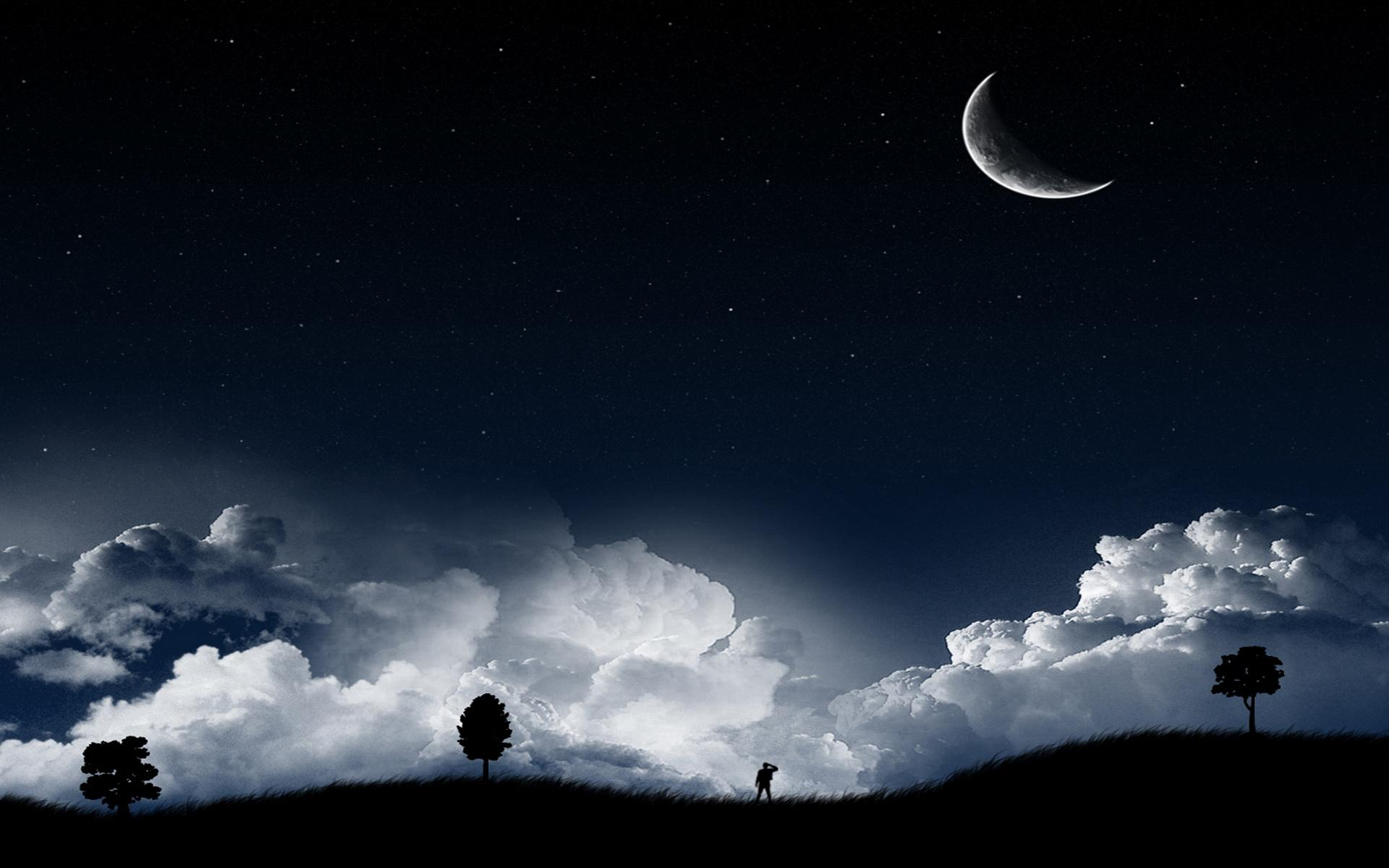 wallpaper.wiki-Crescent-Moon-Background-Widescreen-PIC-WPB0011612 ...