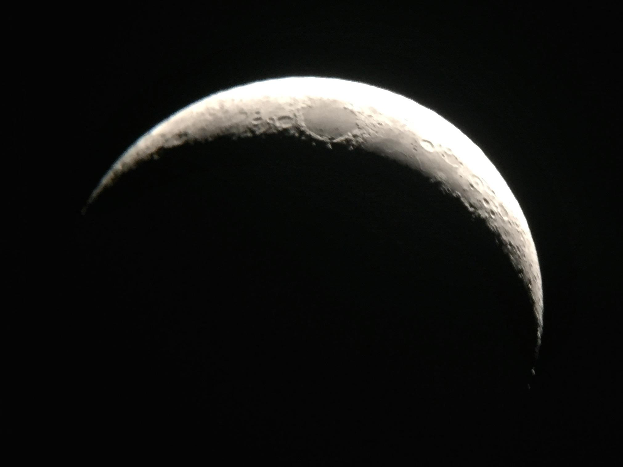 Crescent Moon Wallpapers Widescreen Images Photos Pictures