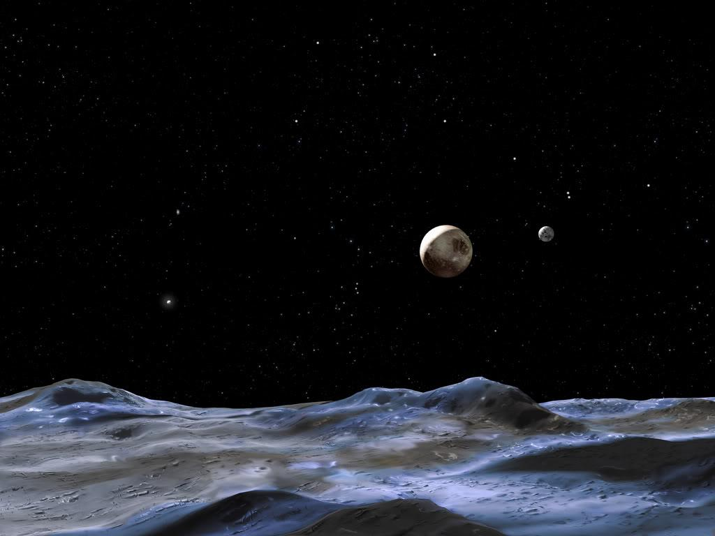 Dwarf Planet Pluto Wallpapers