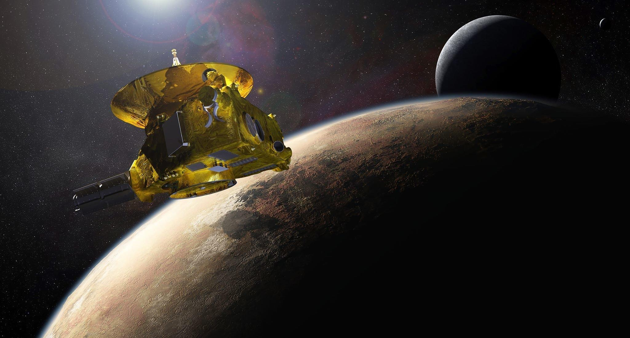 automatic interplanetary station new horizons pluto dwarf planet