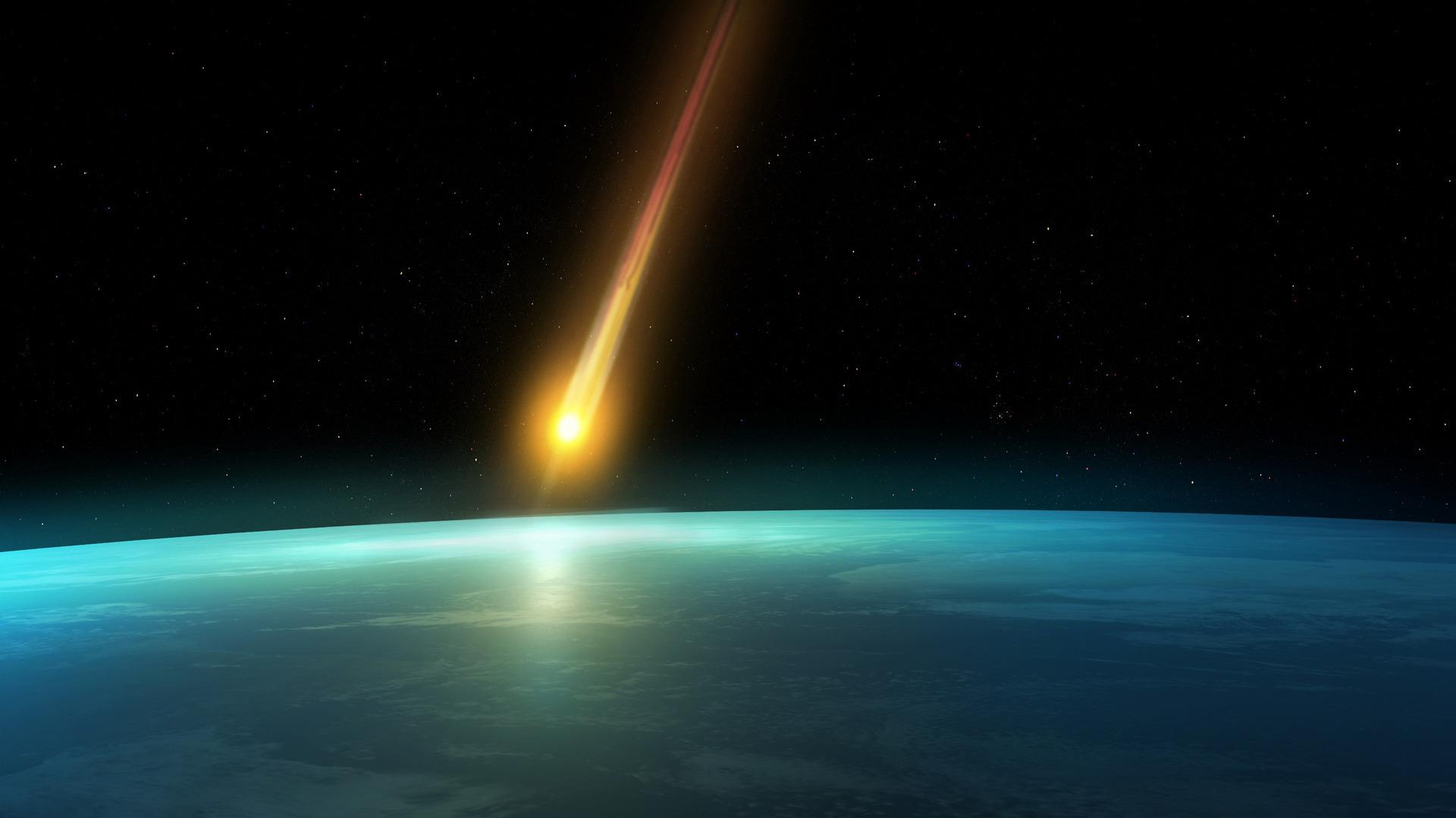 Real Meteor Crash HD Wallpaper, Background Images