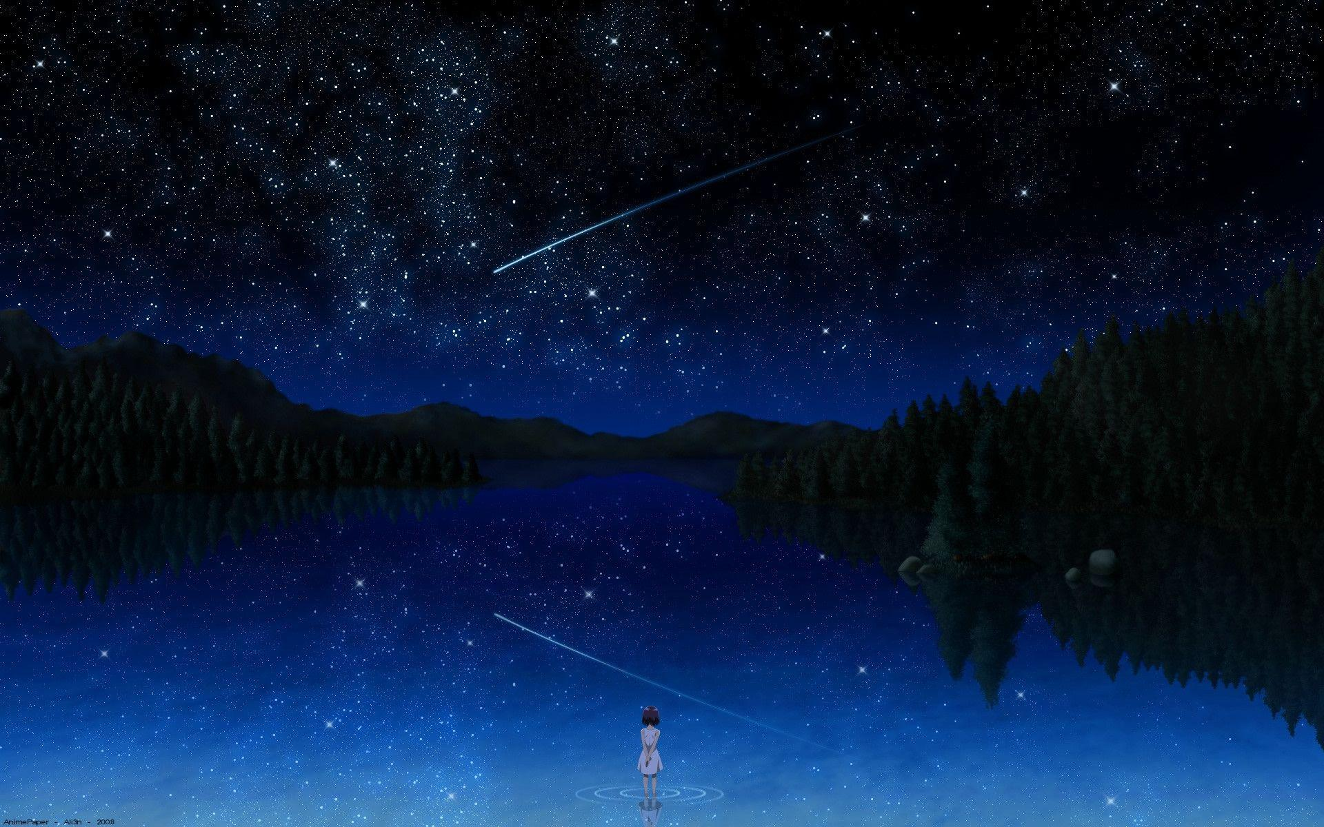 Meteor Shower Wallpaper Image Group (45+)