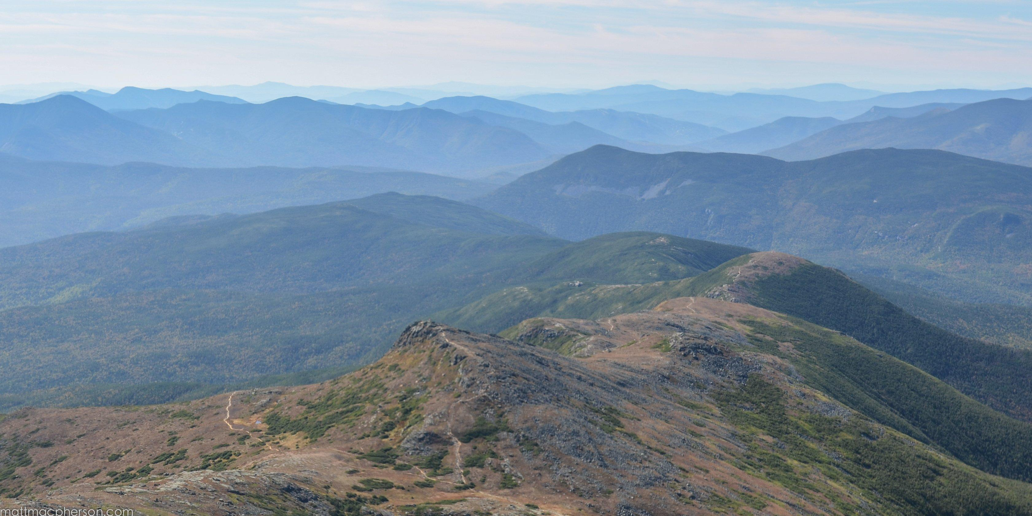 The Appalachian Trail Through the Southern Presidentials wallpaper