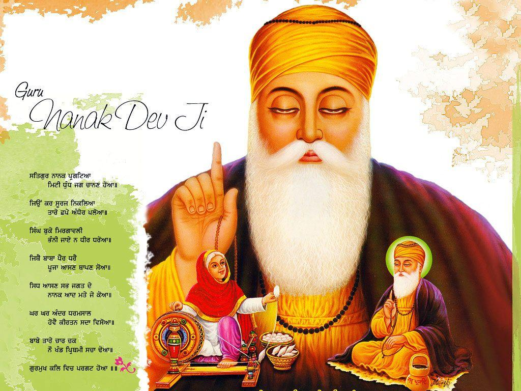 Guru Nanak Birthday Wallpaper Free Download | Guru Nanak Dev ...