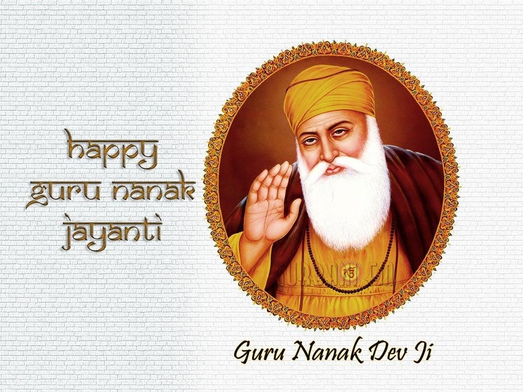 Happy Guru Nanak Jayanti Wallpapers Free Download