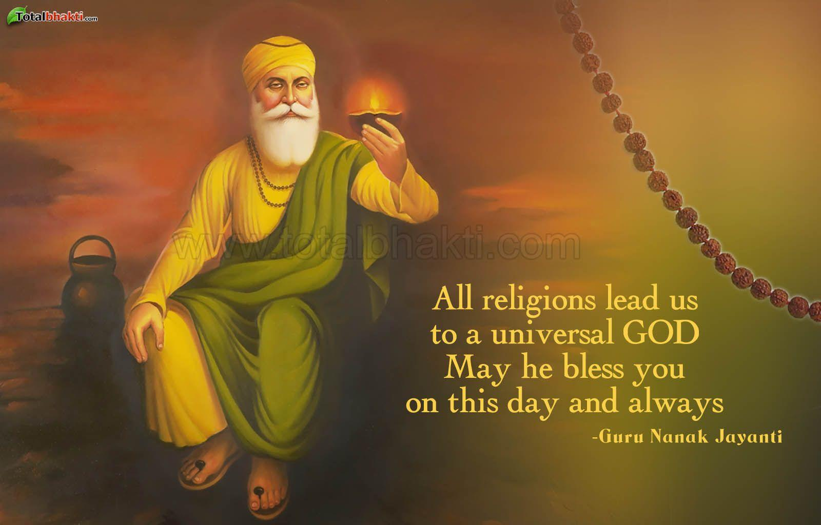 Festivals wallpaper, Hindu wallpaper, Guru Nanak Jayanti Wallpaper ...
