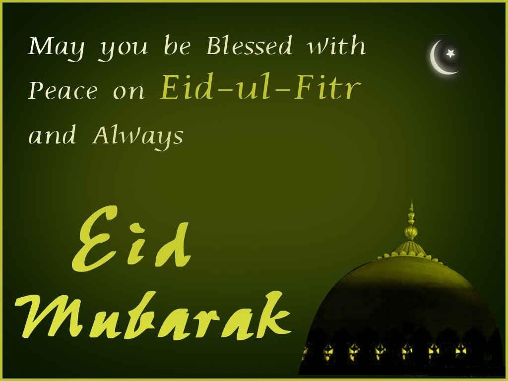 Blessed and Peace on Eid ul Fitr Mubarak Images, Wallpapers, Quotes ...