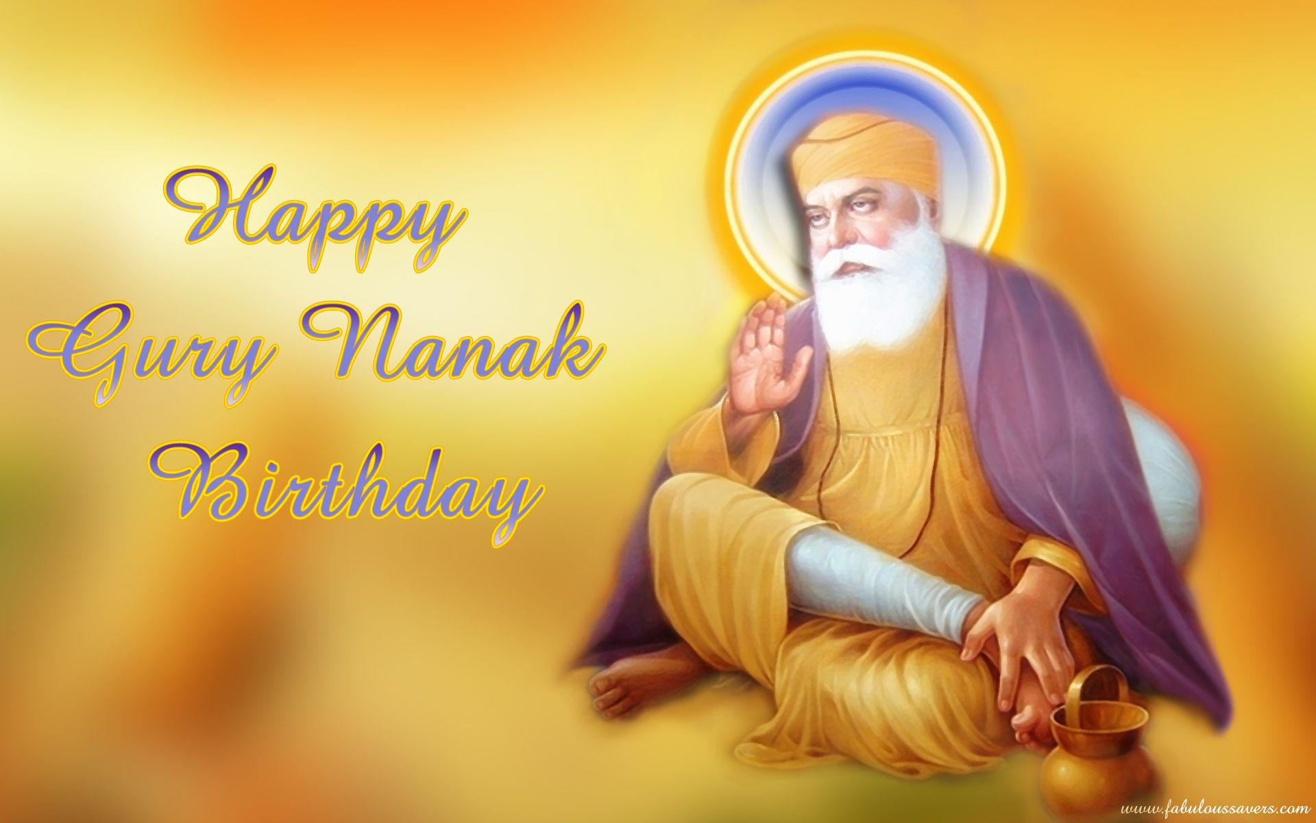 May you find #happiness and peace with the blessings of Guru Nanak ...