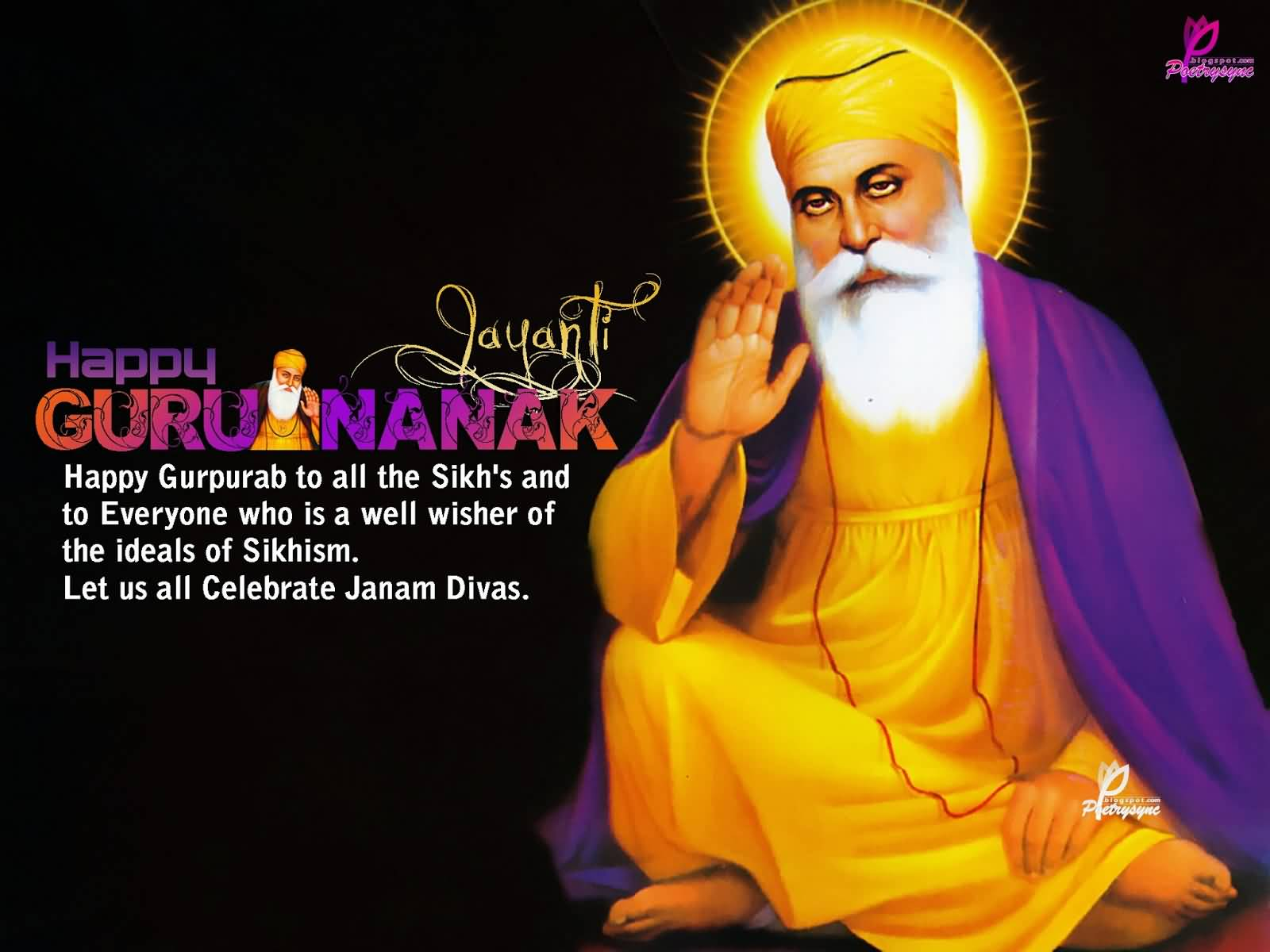40+ Best Pictures And Photos Of Guru Nanak Jayanti Wishes