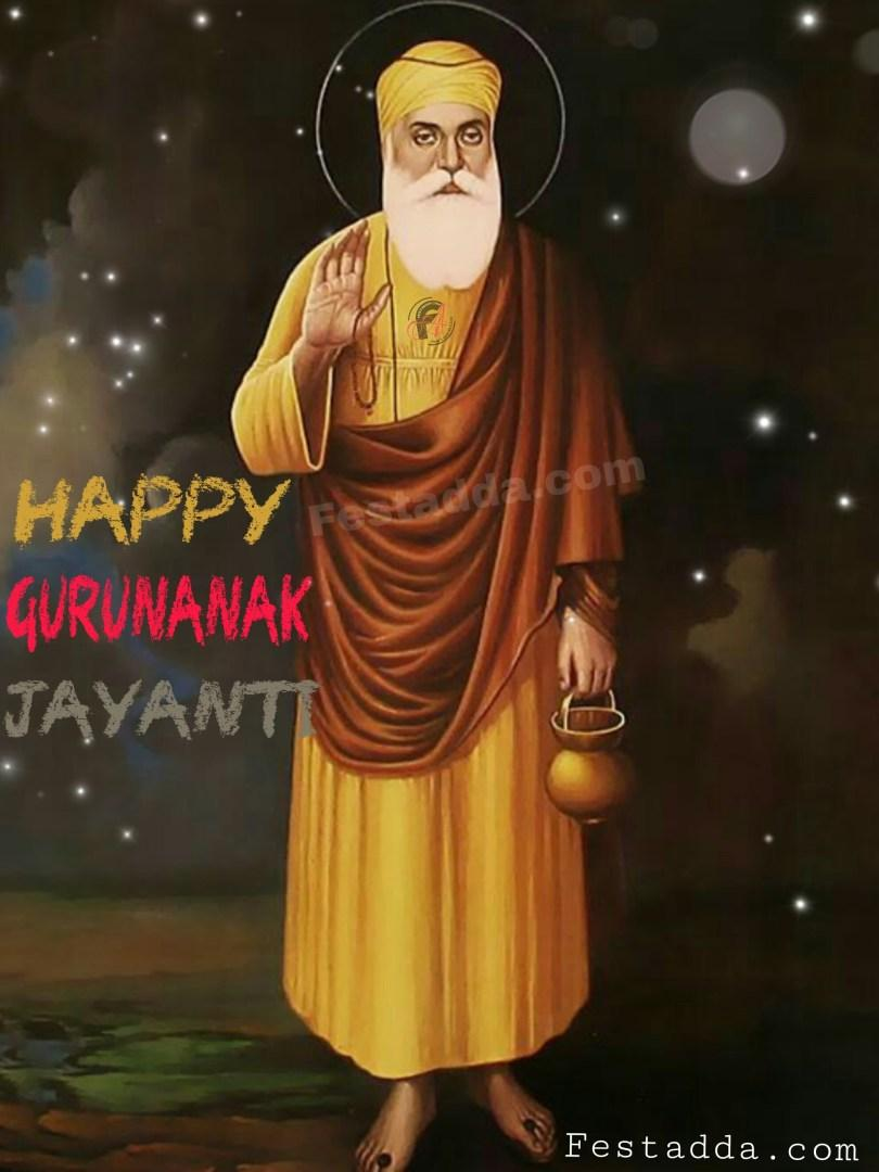 Happy Guru Nanak Jayanti Wishes 2019 Greetings Images HD Photos ...
