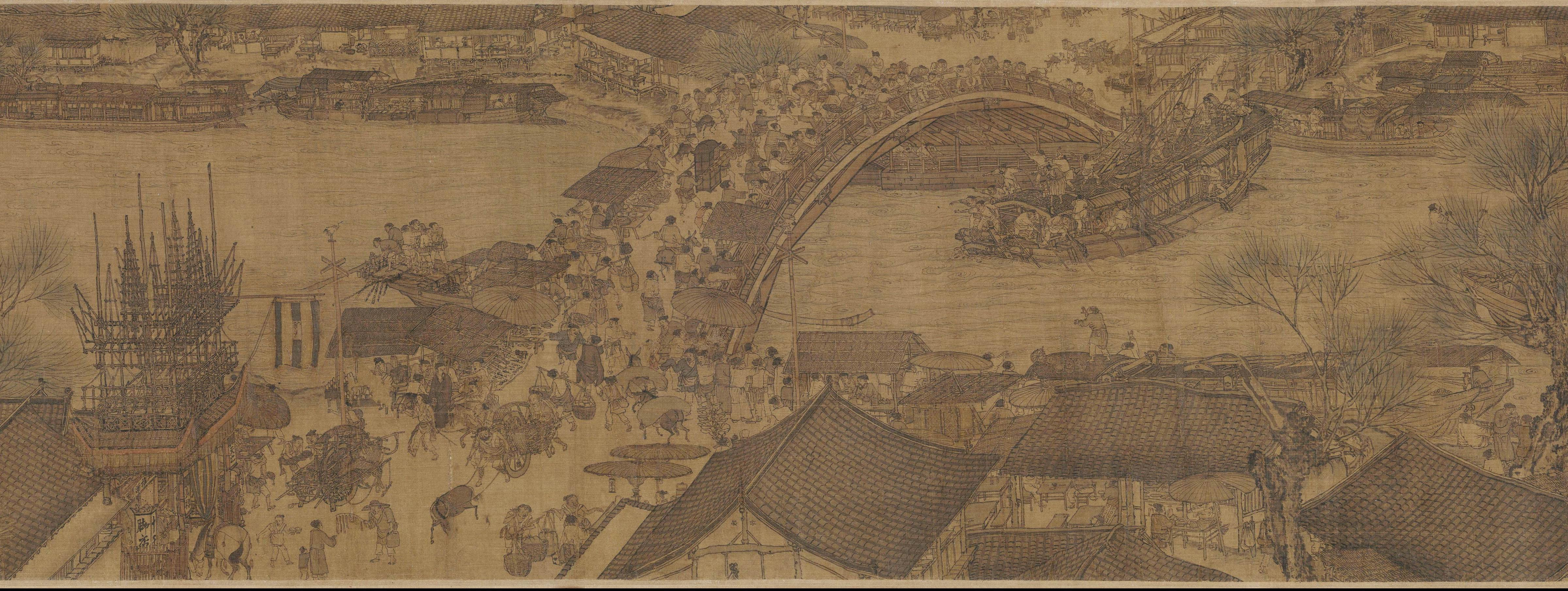 Lige Guo:Along the River During the Qingming Festival(清明上河图