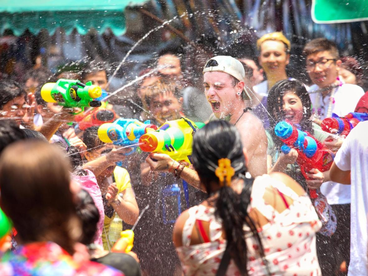 Where to celebrate Songkran