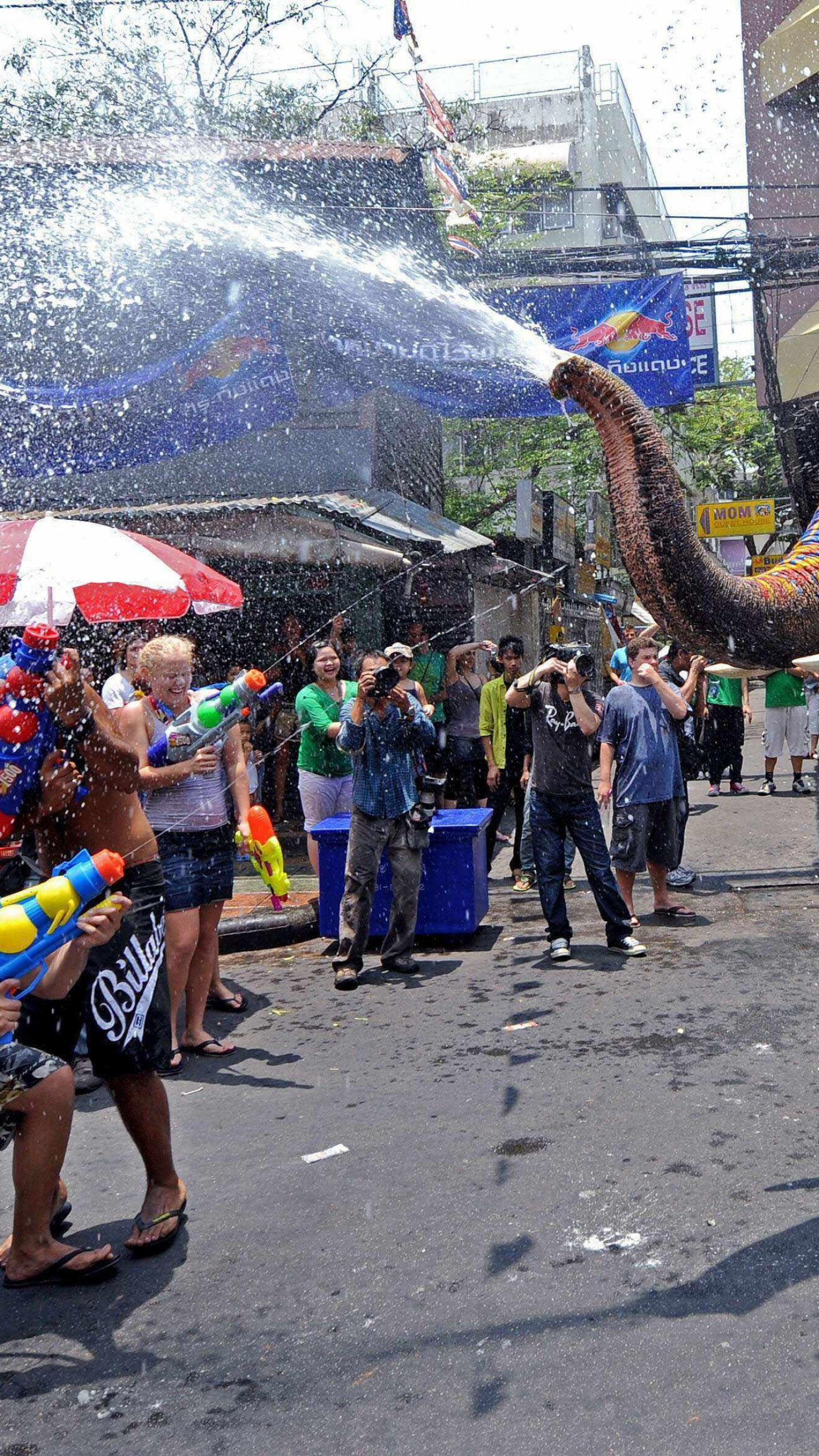 Wallpapers Songkran, Thai New Year, Thailand, Water Festival