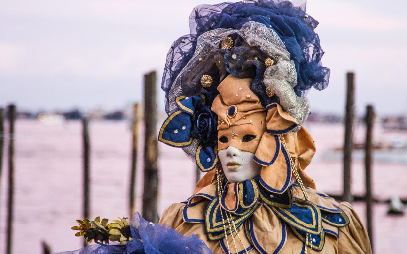 In Pictures: 13 Striking Image Of Venice Carnival