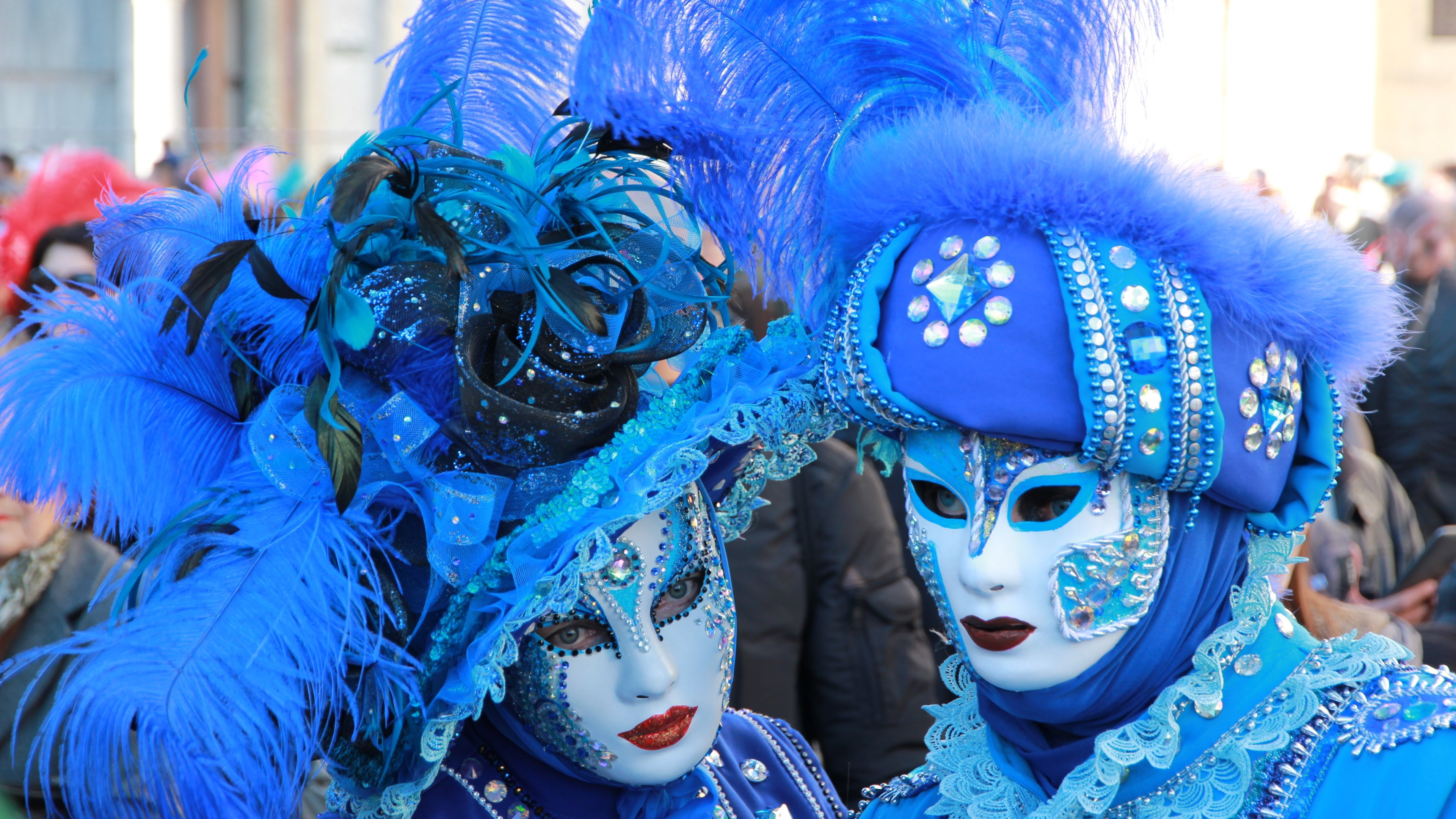 Mask at Venice Carnival 4k Ultra HD Wallpapers