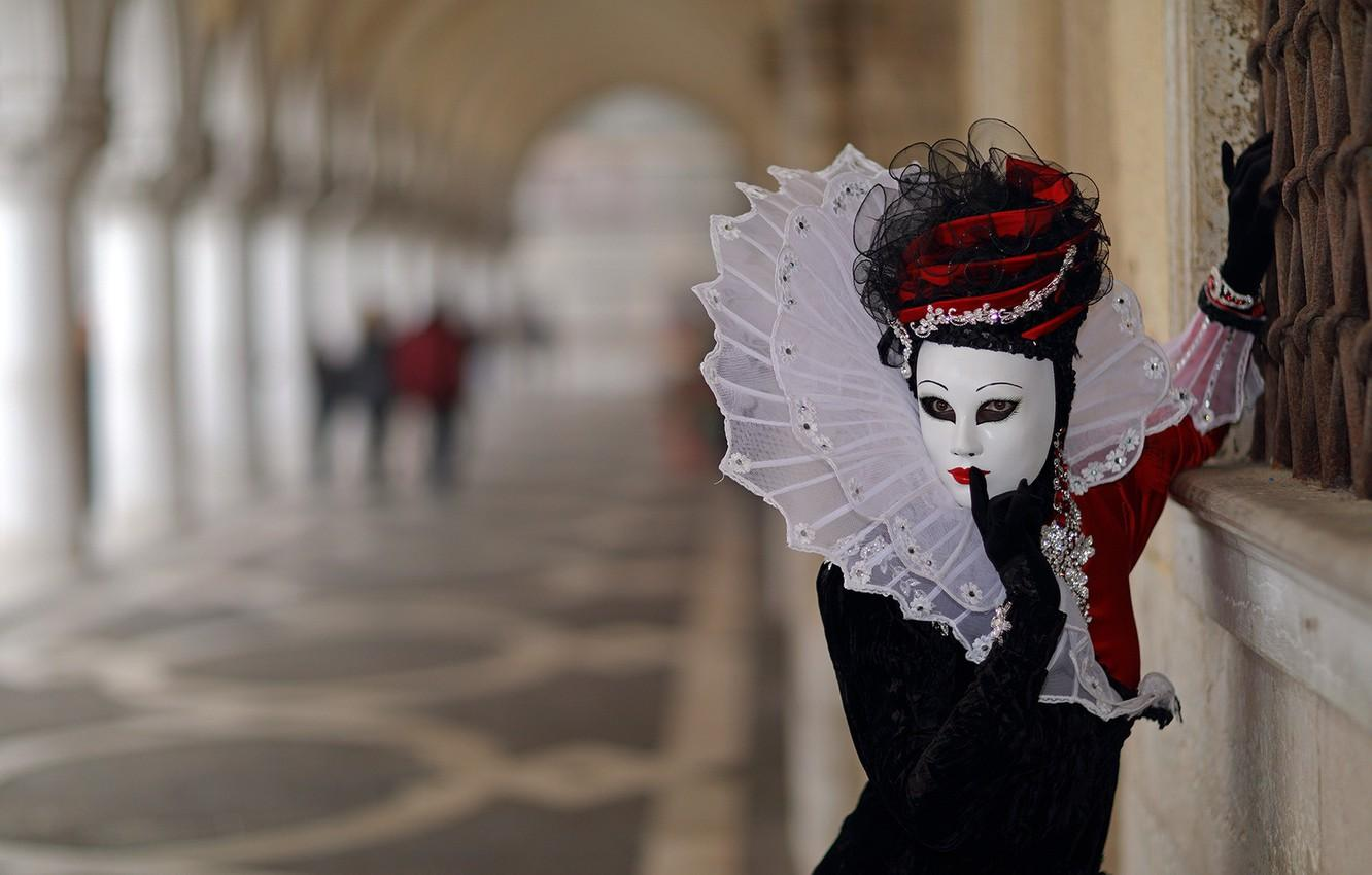 Wallpapers background, mask, The carnival of Venice image for