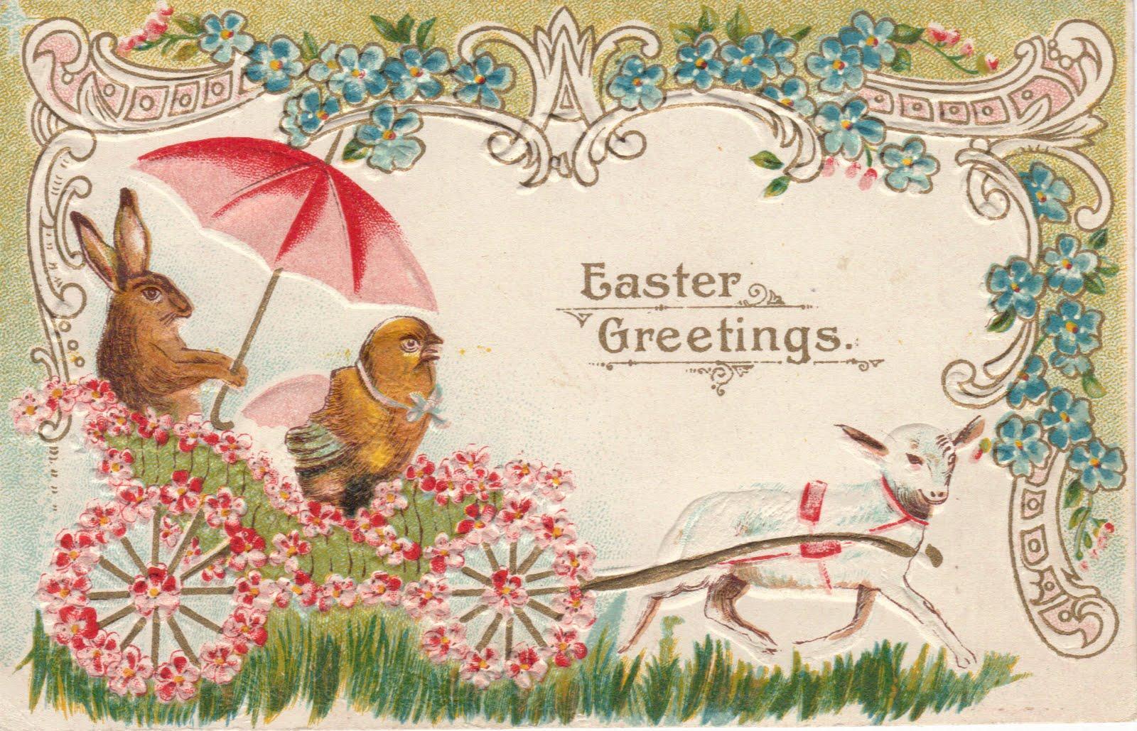 Британская открытка, мартом