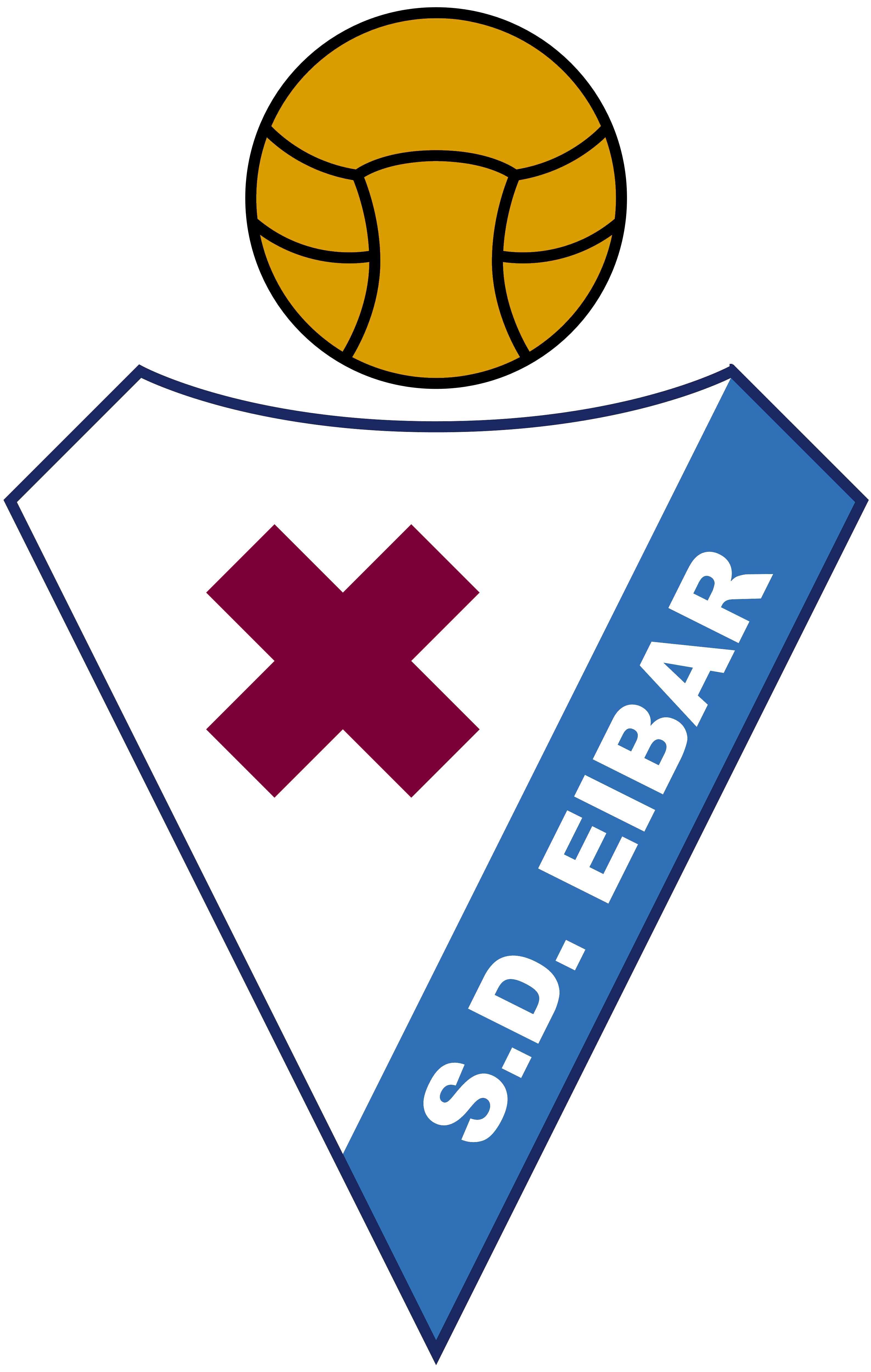 SD Eibar – Logos Download