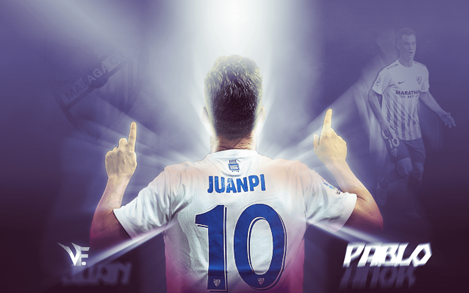 Juan Pablo Añor - Malaga CF - 2018 ¡WALLPAPER HD! - VF17