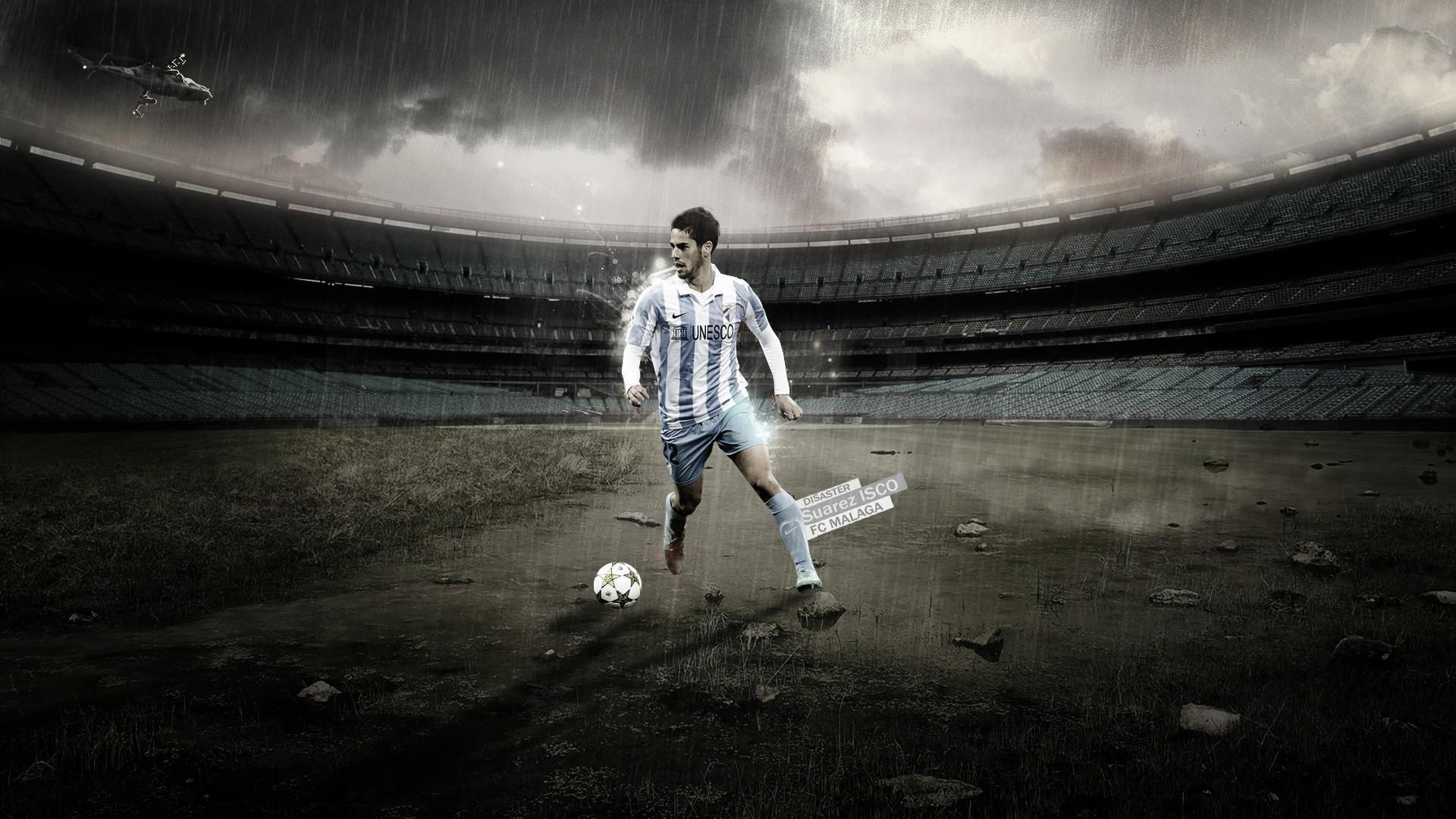 Calcio francisco suárez isco isco málaga cf wallpapers