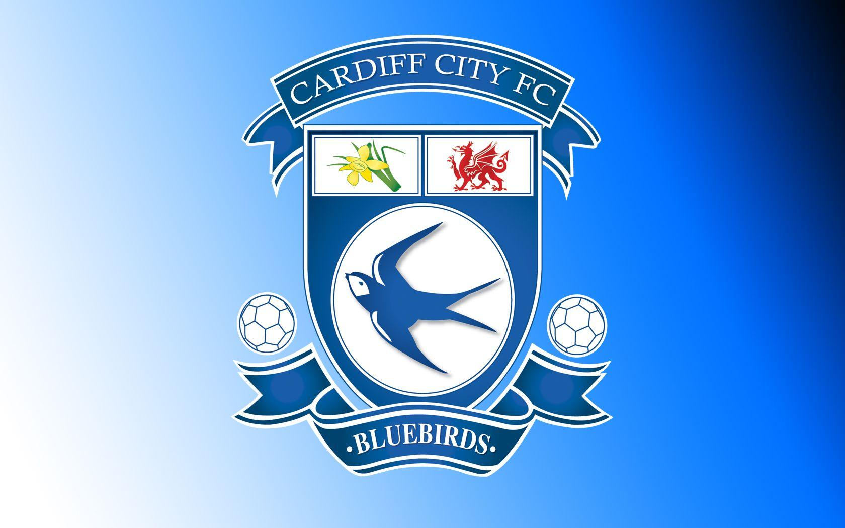 Cardiff City FC Logo Wallpaper HD | Wallpapers | Pinterest | Cardiff ...