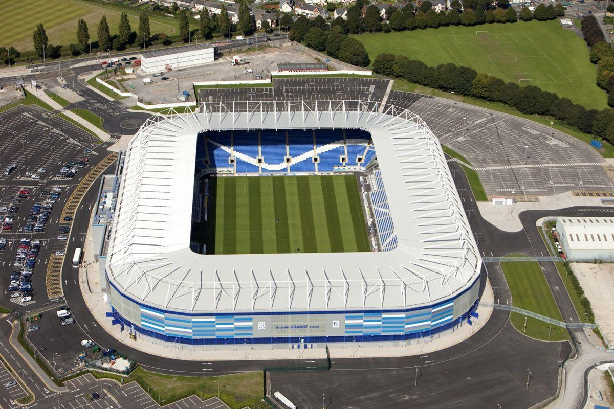 Cardiff City Stadium Aerial View Wallpaper | Wallpapers | Pinterest