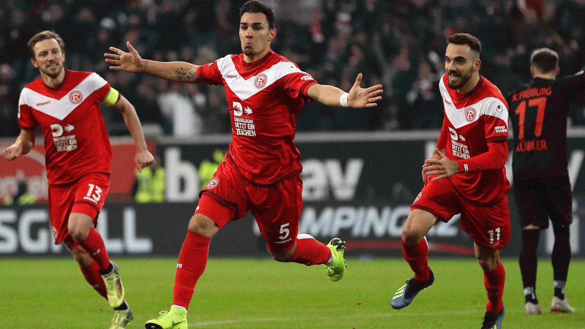 Bundesliga | Kaan Ayhan's brace earns Fortuna Düsseldorf third win ...