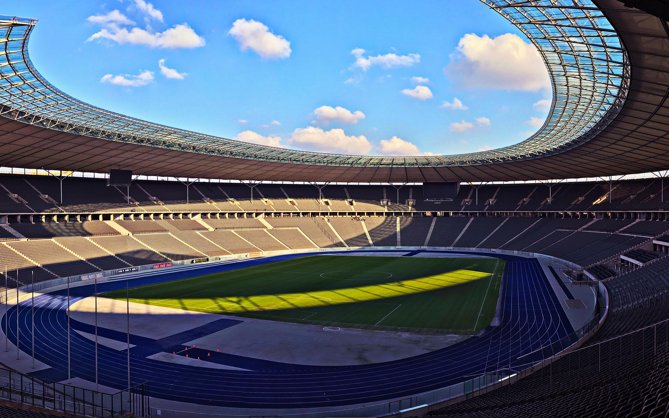 Download wallpapers Olympiastadion Berlin, Germany, German Football