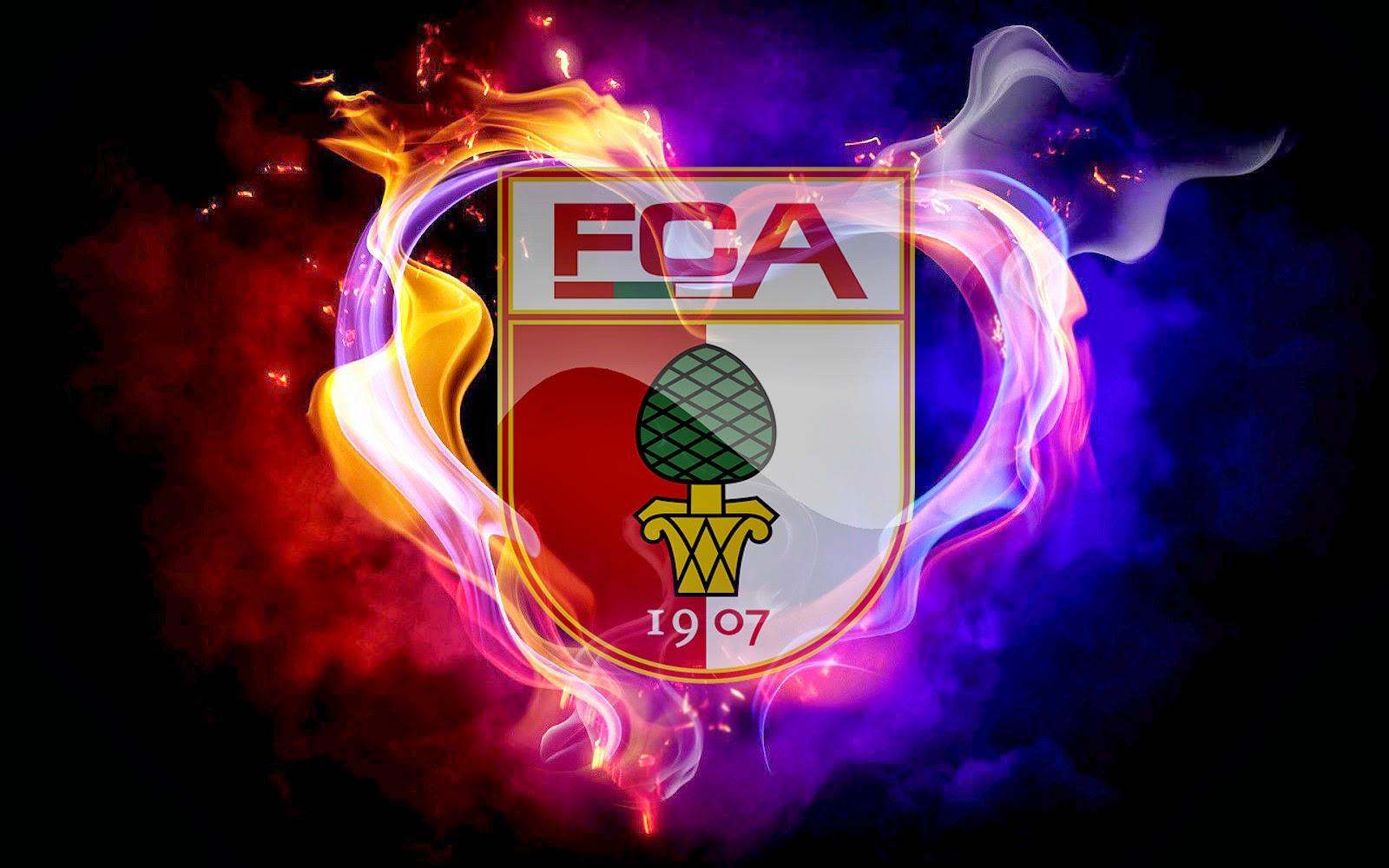 FC Augsburg Football Club Logo Picture