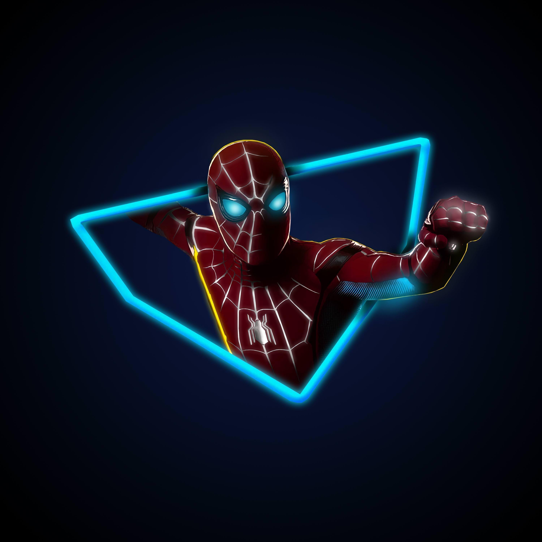 Spider-Man Neon Wallpapers - Wallpaper Cave