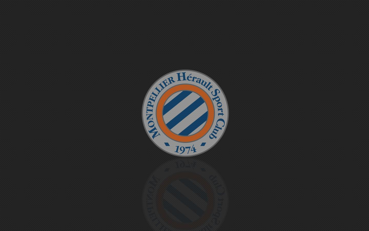 Montpellier HSC Logo Sport Wallpapers Black Bac Wallpapers