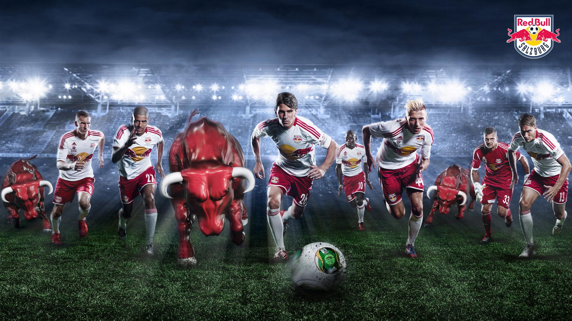 FC Red Bull Salzburg Zoom Background