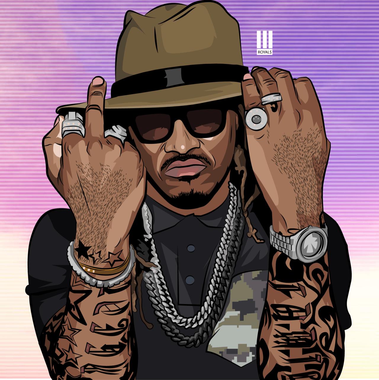 35+ Cartoon Future Wallpaper Rapper Pics
