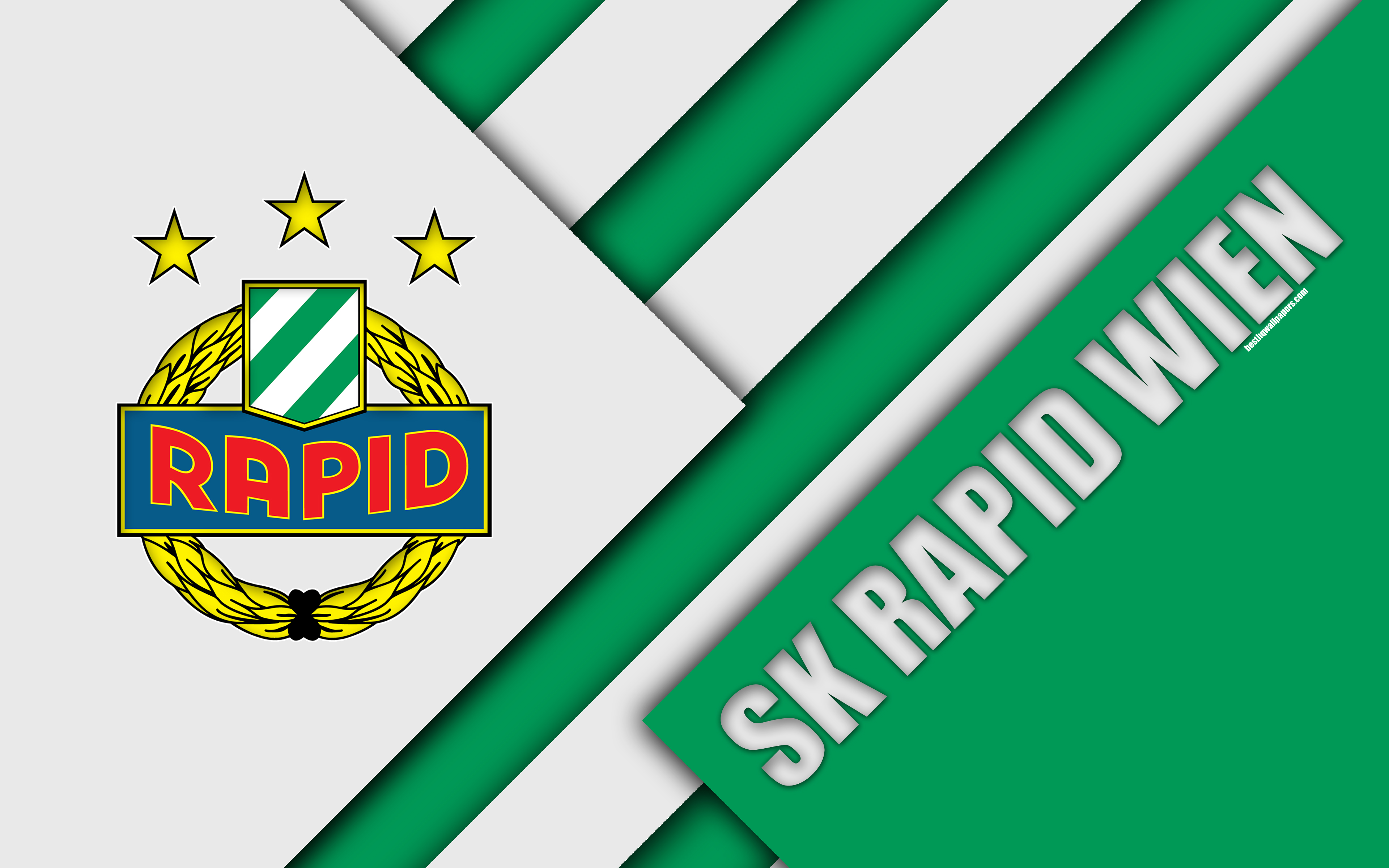 Download wallpapers SK Rapid Wien, Austrian football club, 4k