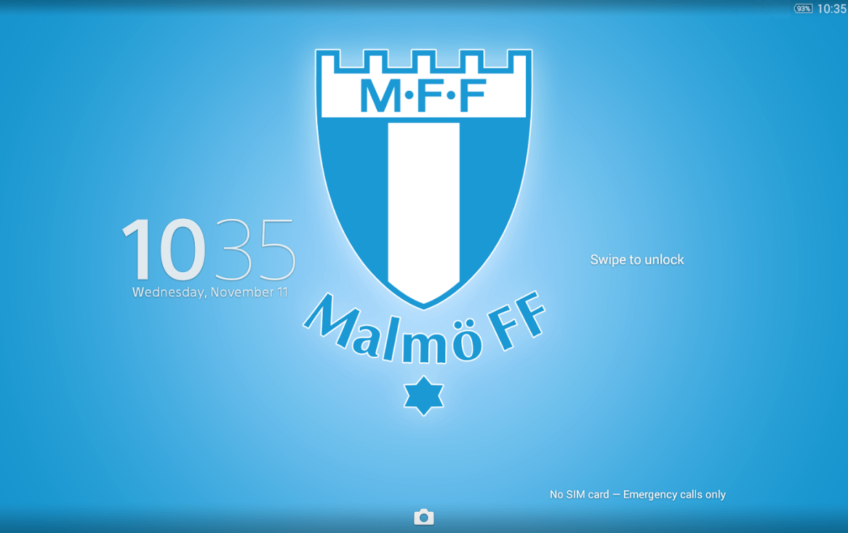 Download Xperia Malmö FF Theme