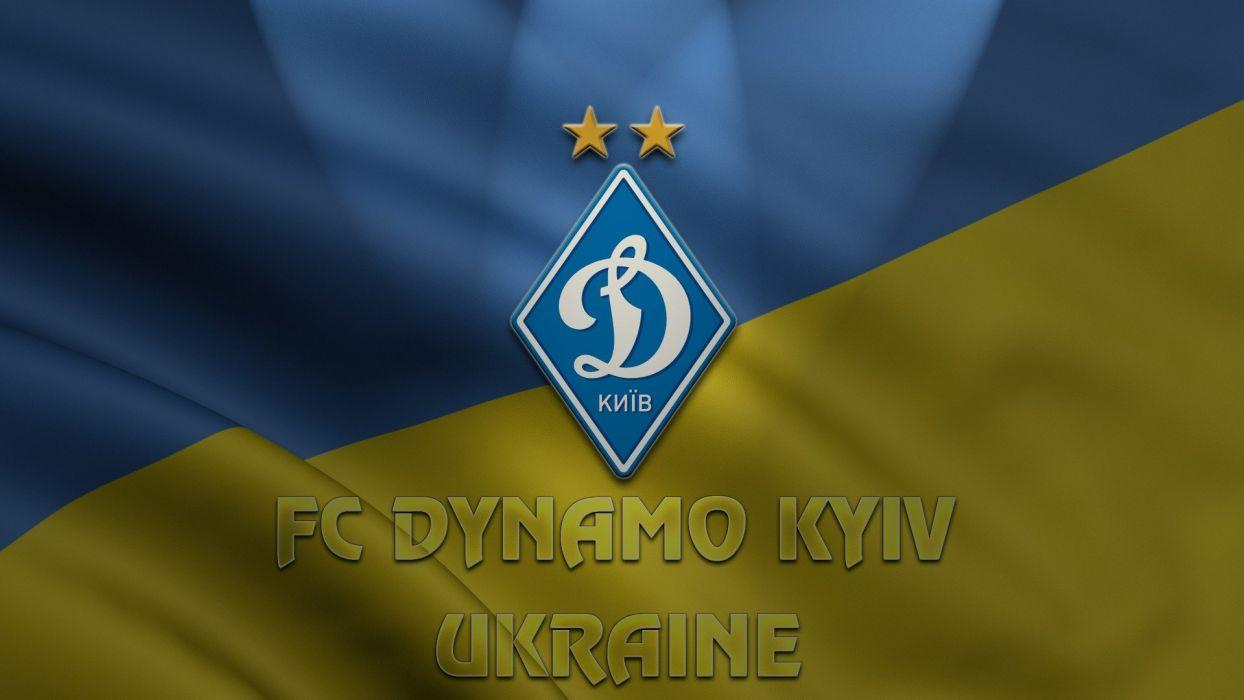 Sports soccer Ukraine logos Dynamo Kiev football teams Dynamo FC