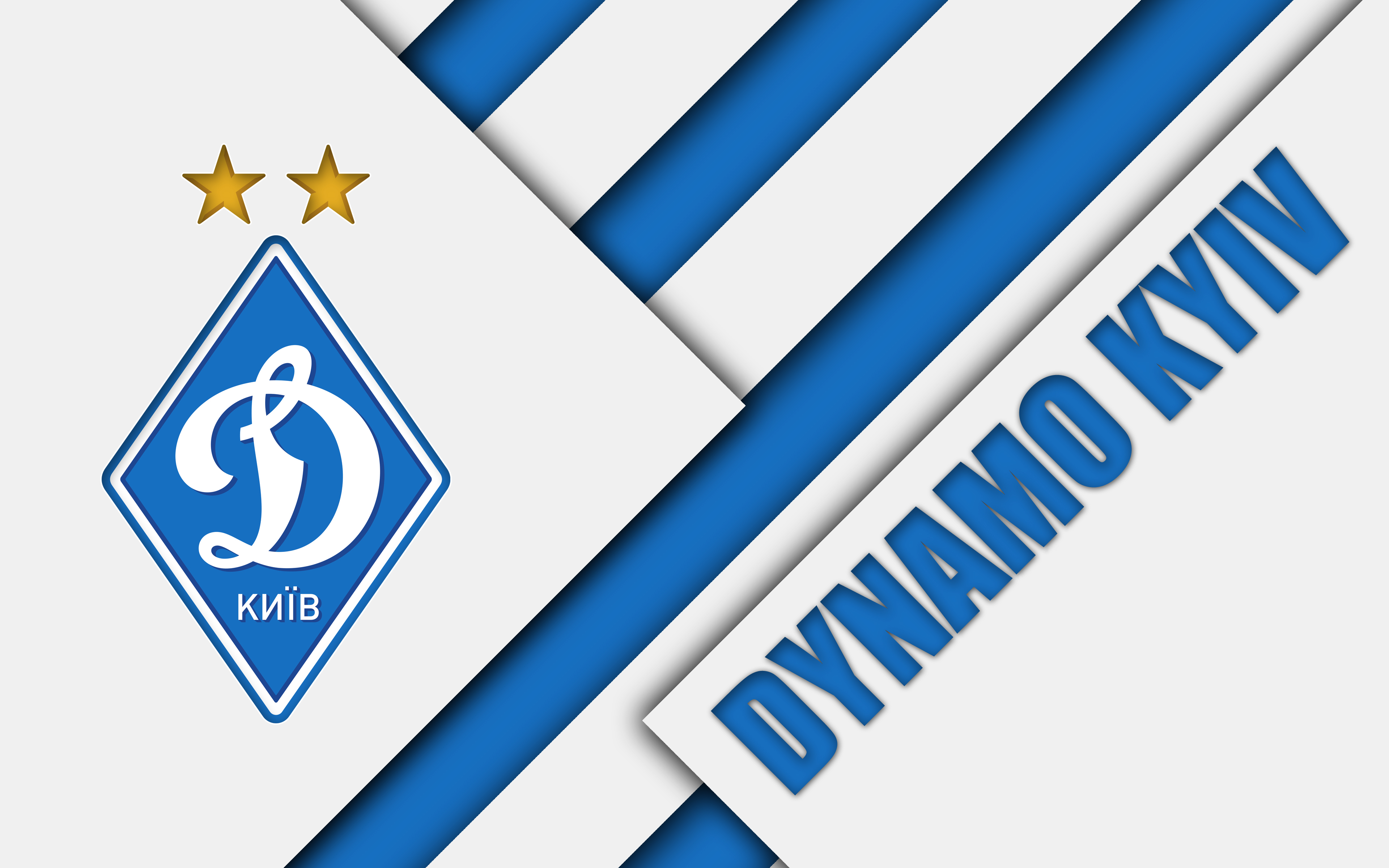Soccer, Emblem, FC Dynamo Kyiv, Logo wallpapers and backgrounds