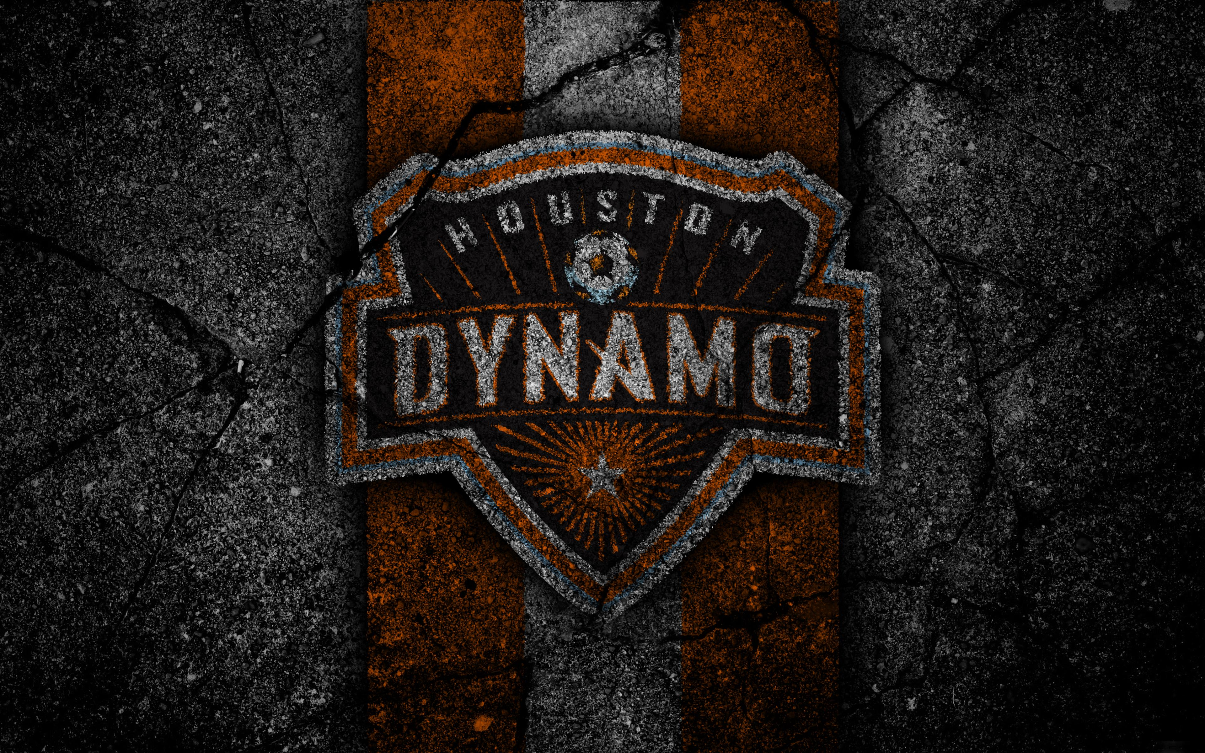 Emblem, Houston Dynamo, MLS, Logo, Soccer wallpapers and backgrounds