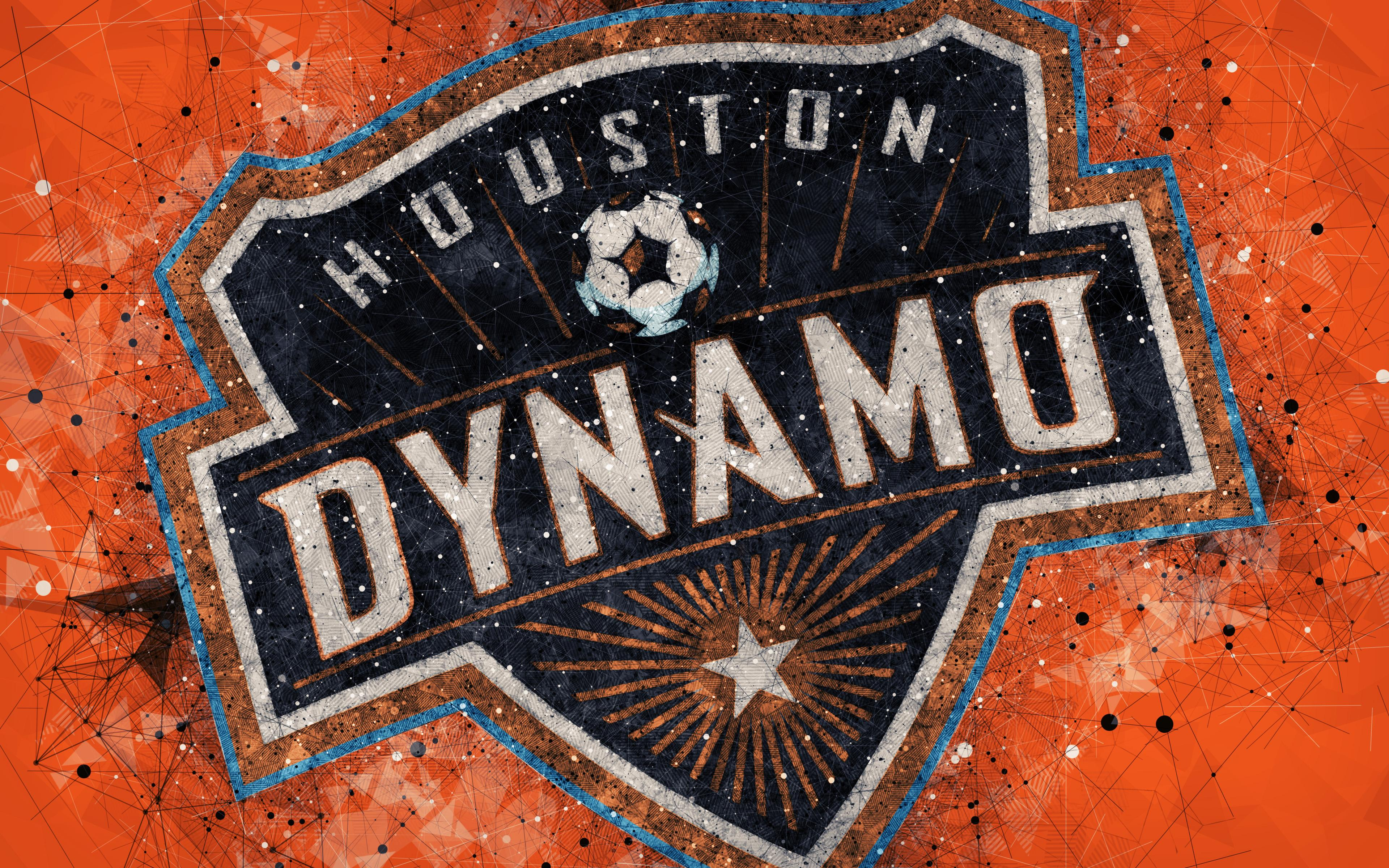 Emblem, MLS, Logo, Soccer, Houston Dynamo wallpapers and backgrounds
