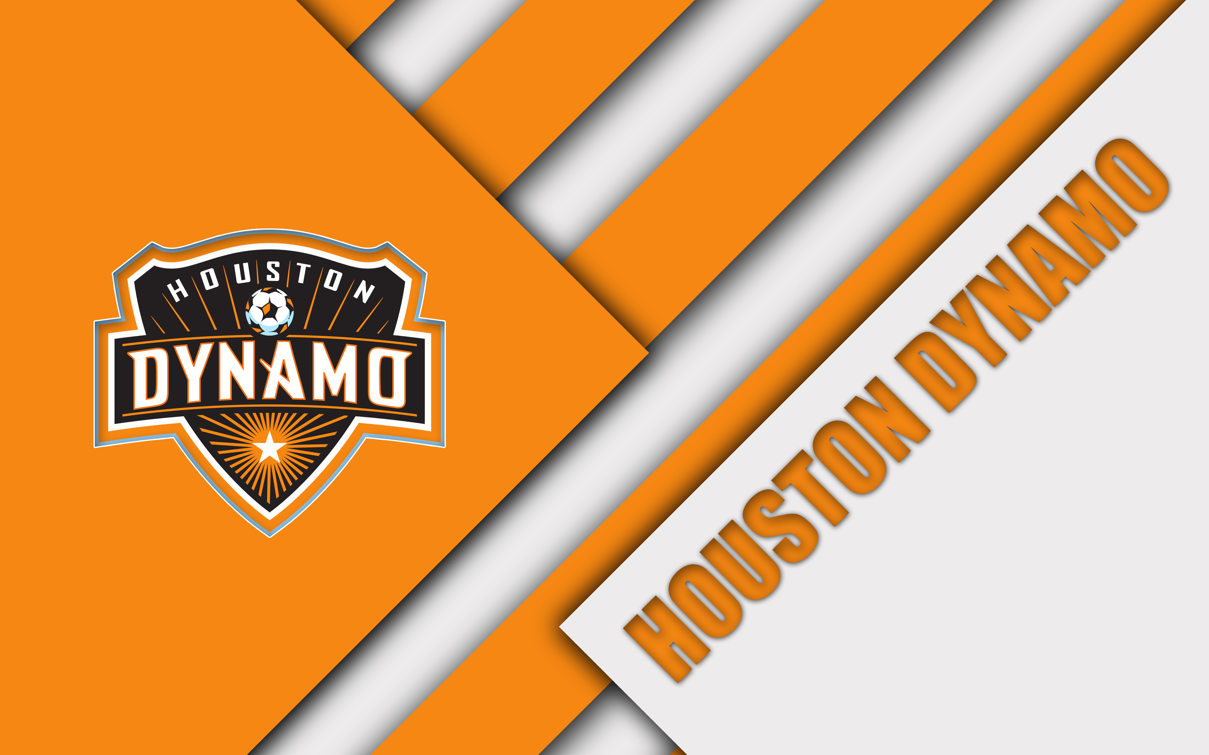 Houston Dynamo, Emblem, Logo, MLS, Soccer wallpapers and backgrounds