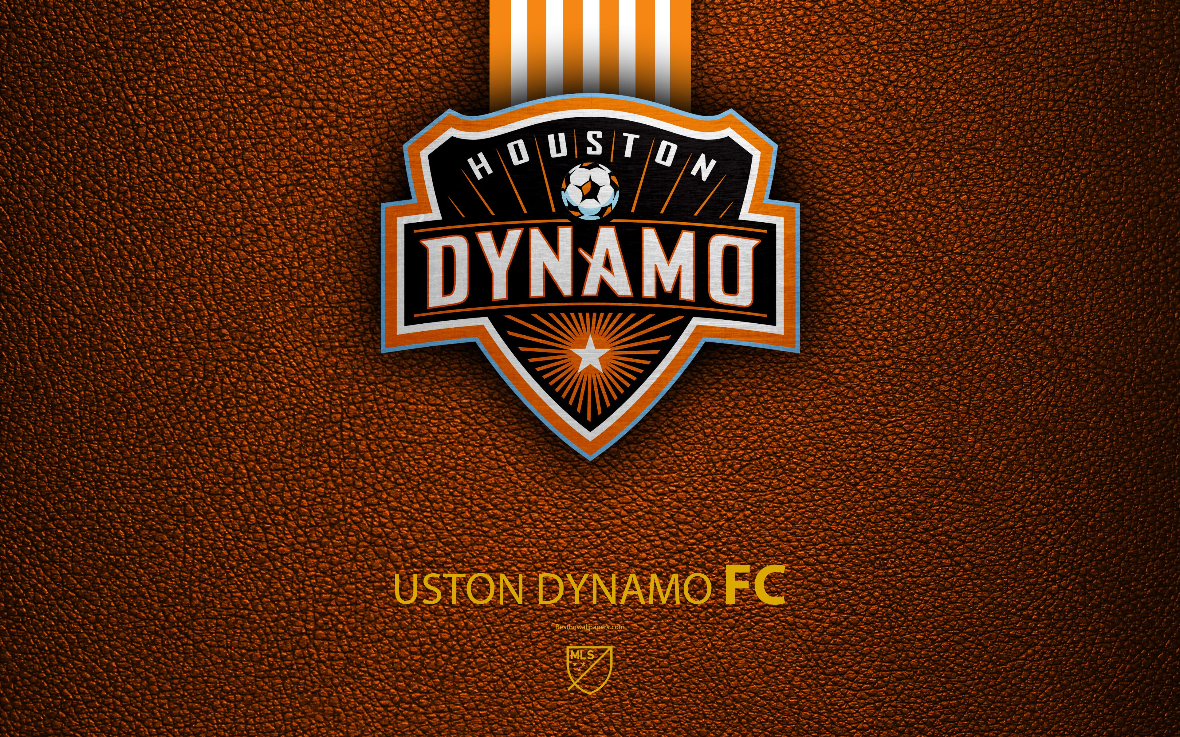 Download wallpapers Houston Dynamo FC, 4K, American Soccer Club, MLS
