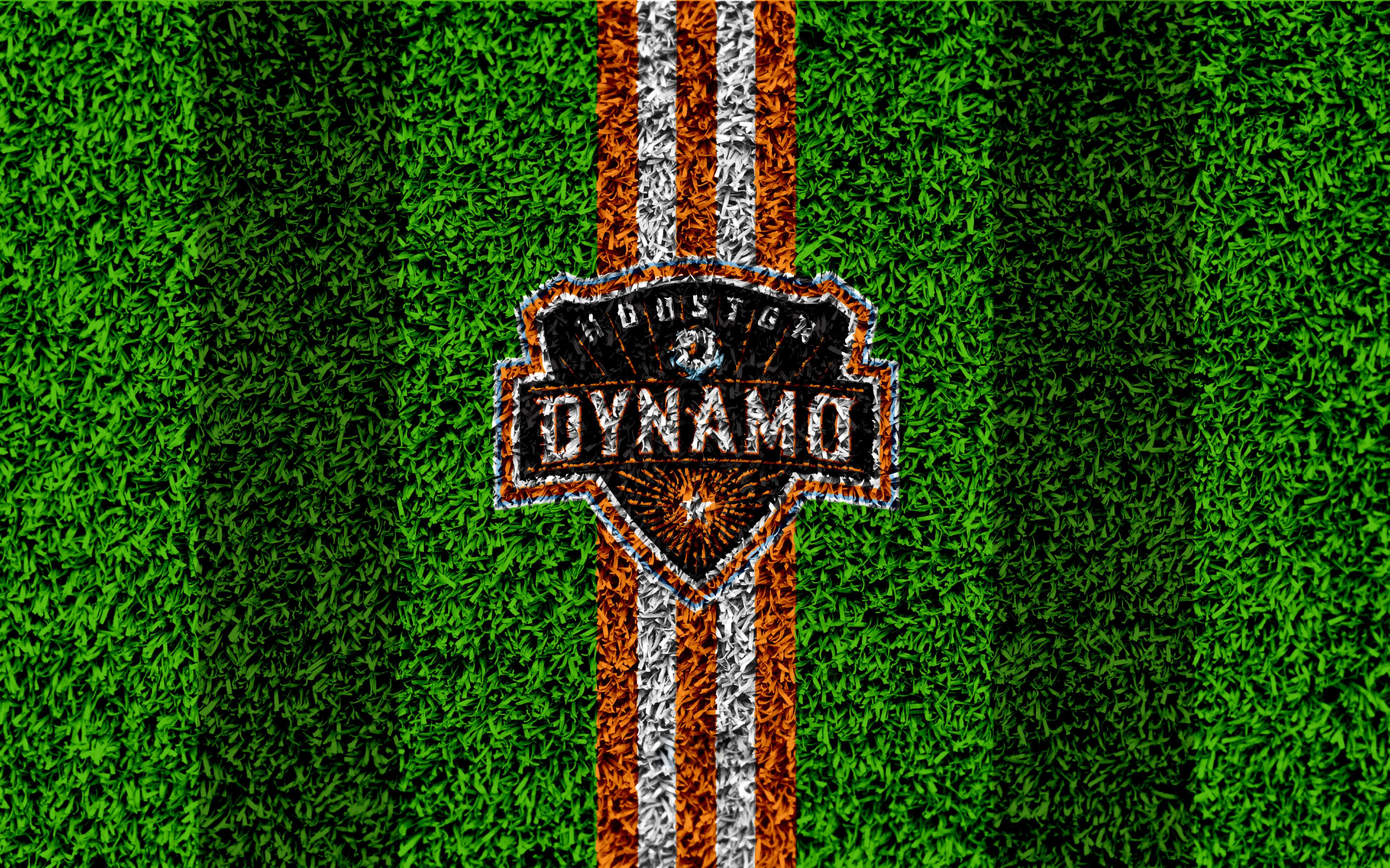 Logo, Houston Dynamo, Soccer, Emblem, MLS wallpapers and backgrounds