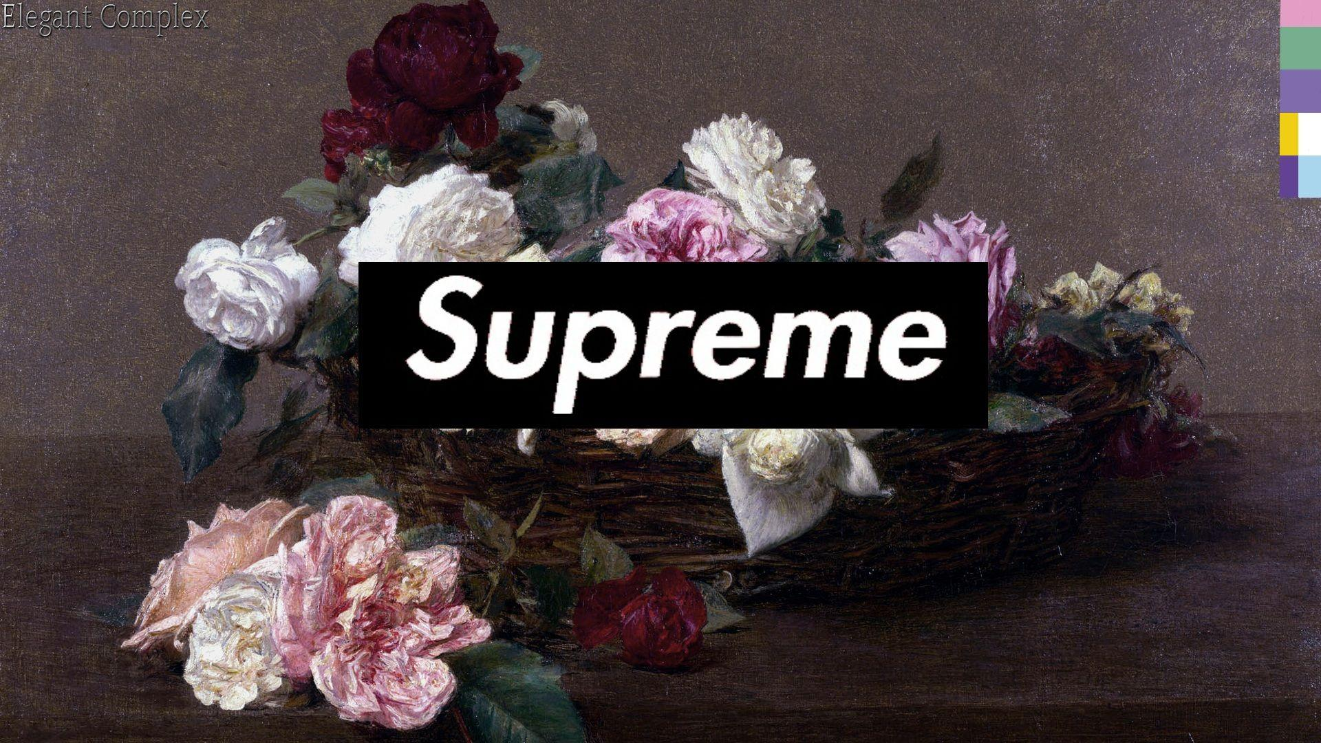 Supreme Floral Wallpapers