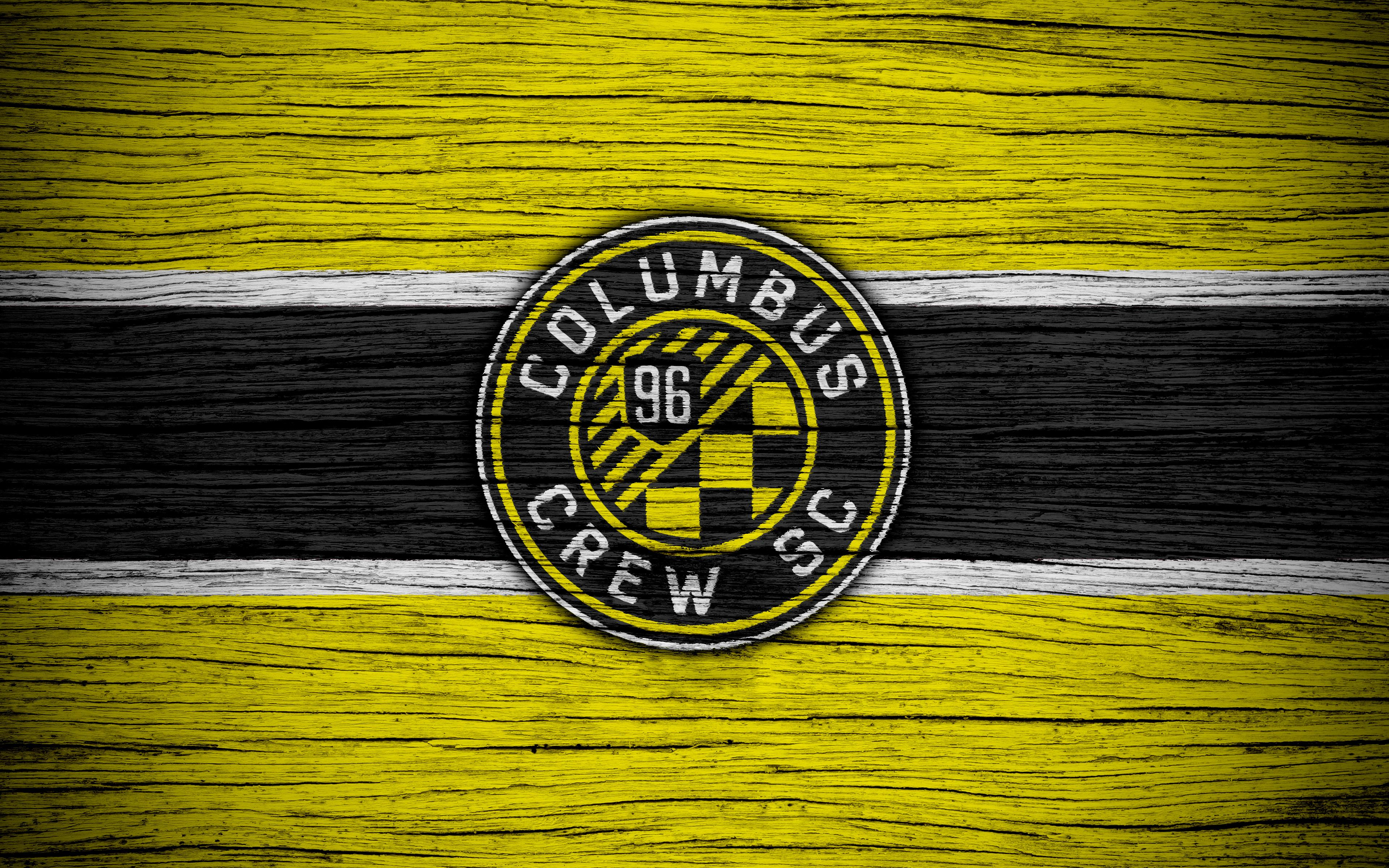 Logo, Emblem, Columbus Crew SC, MLS, Soccer wallpapers and backgrounds