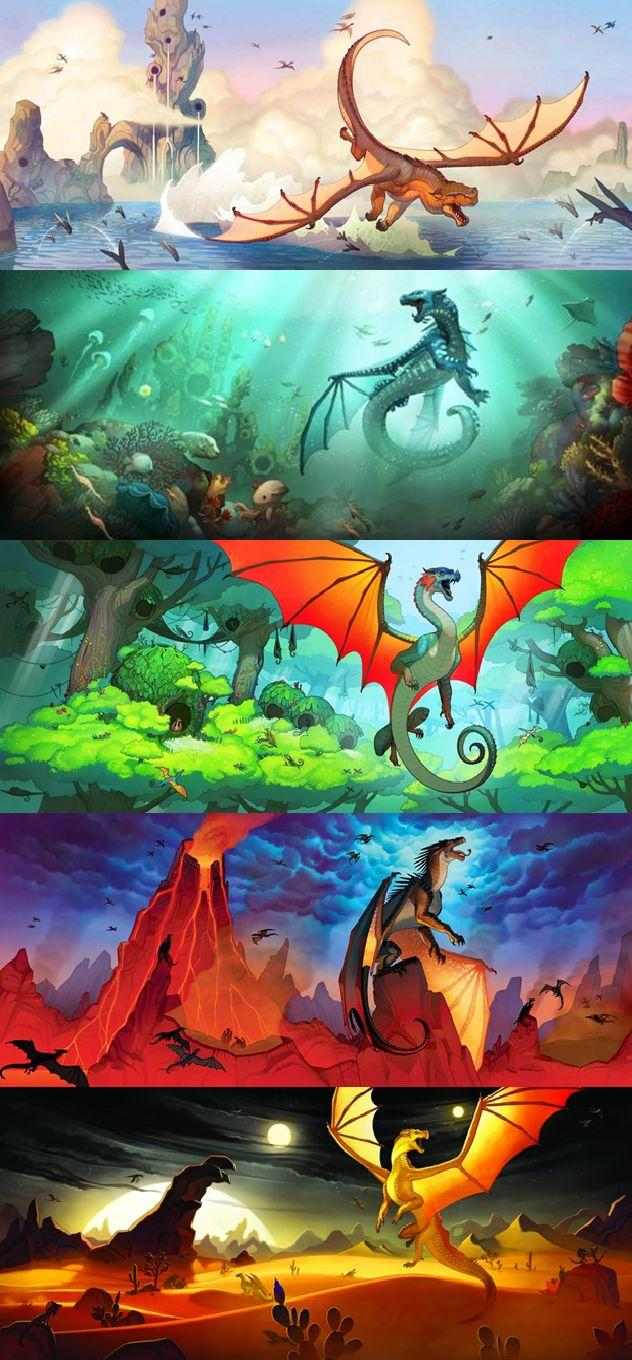 Wings Of Fire Book Wallpapers Wallpaper Cave